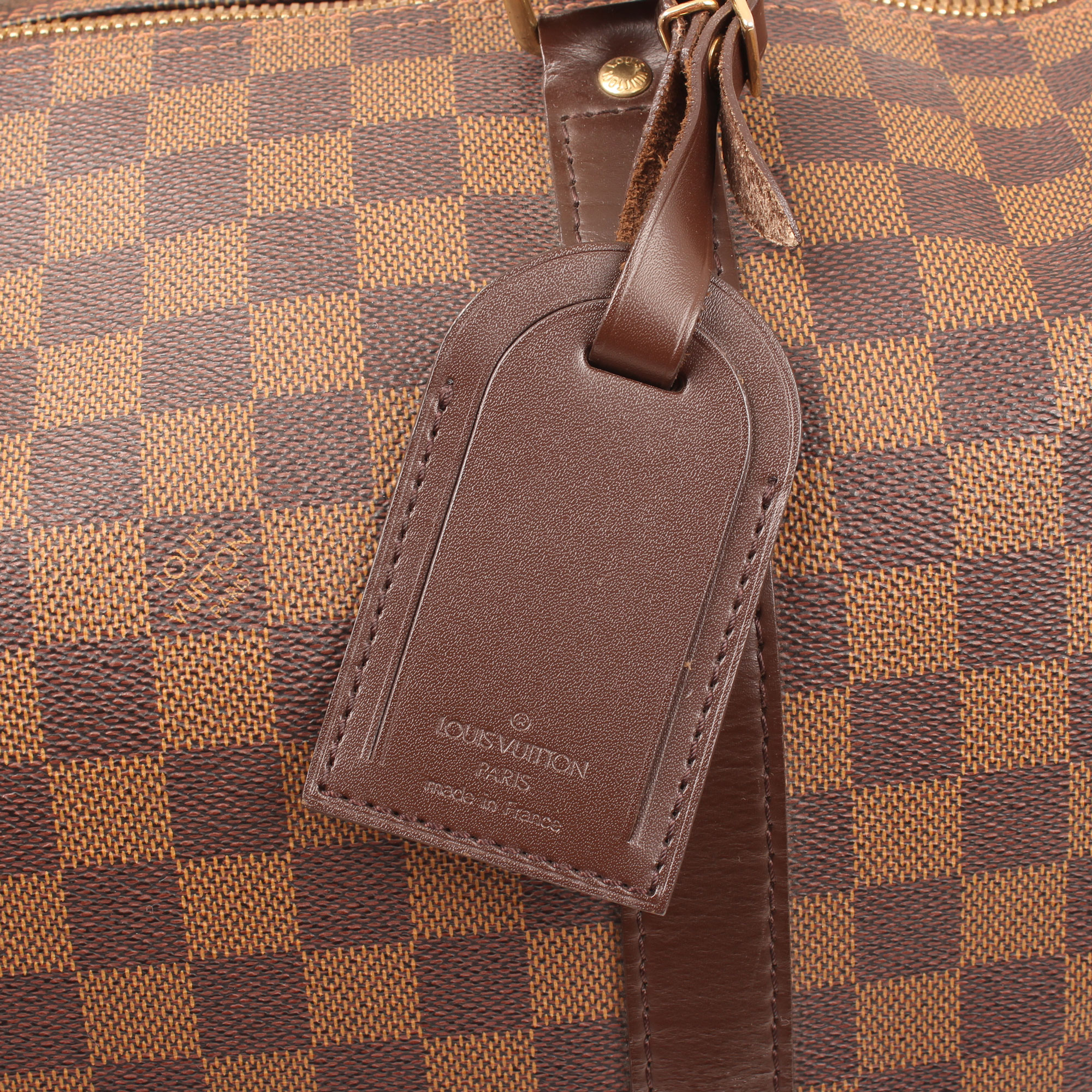 travel-bag-louis-vuitton-keepall-50-damier-ebene-ID-tag