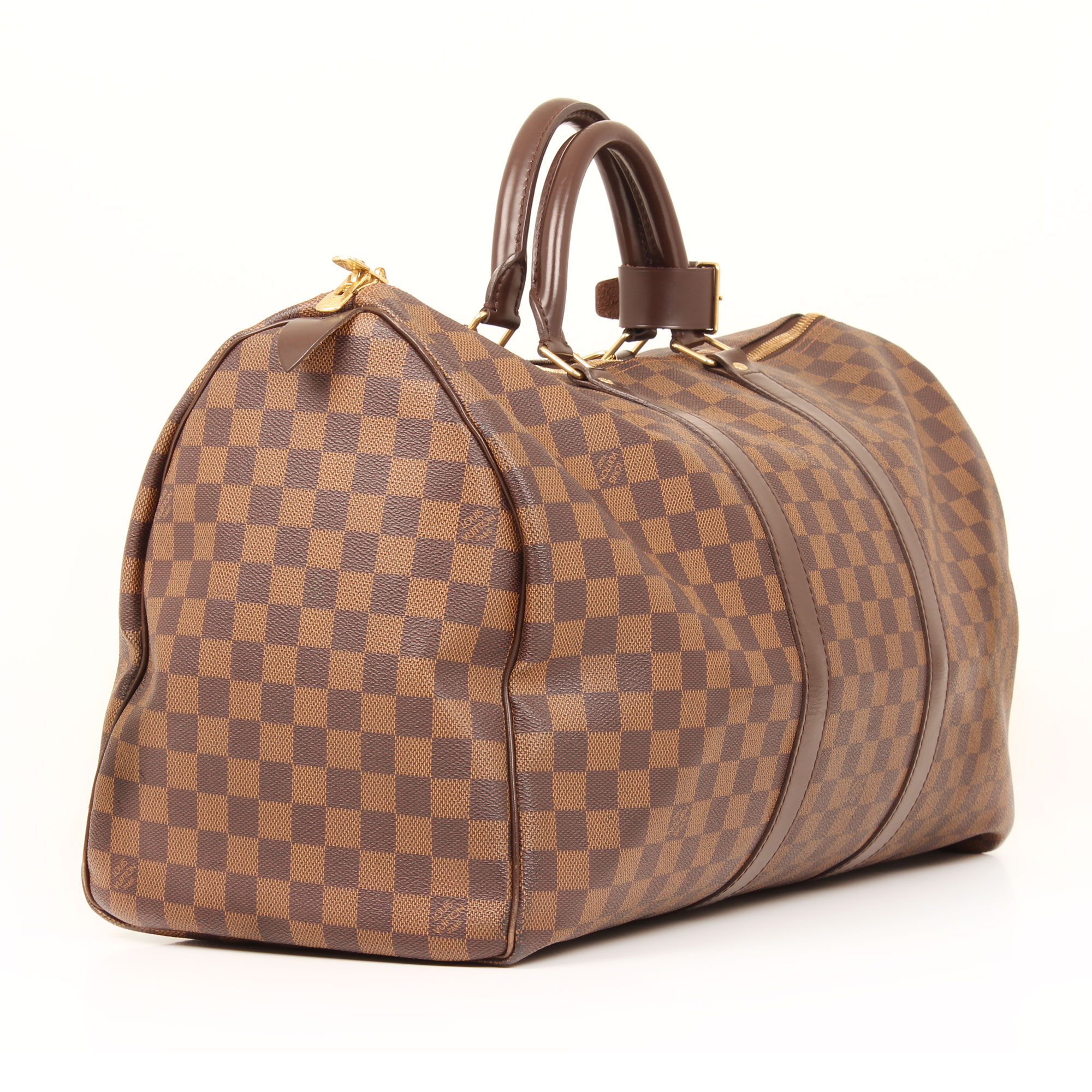 travel-bag-louis-vuitton-keepall-50-damier-ebene-side
