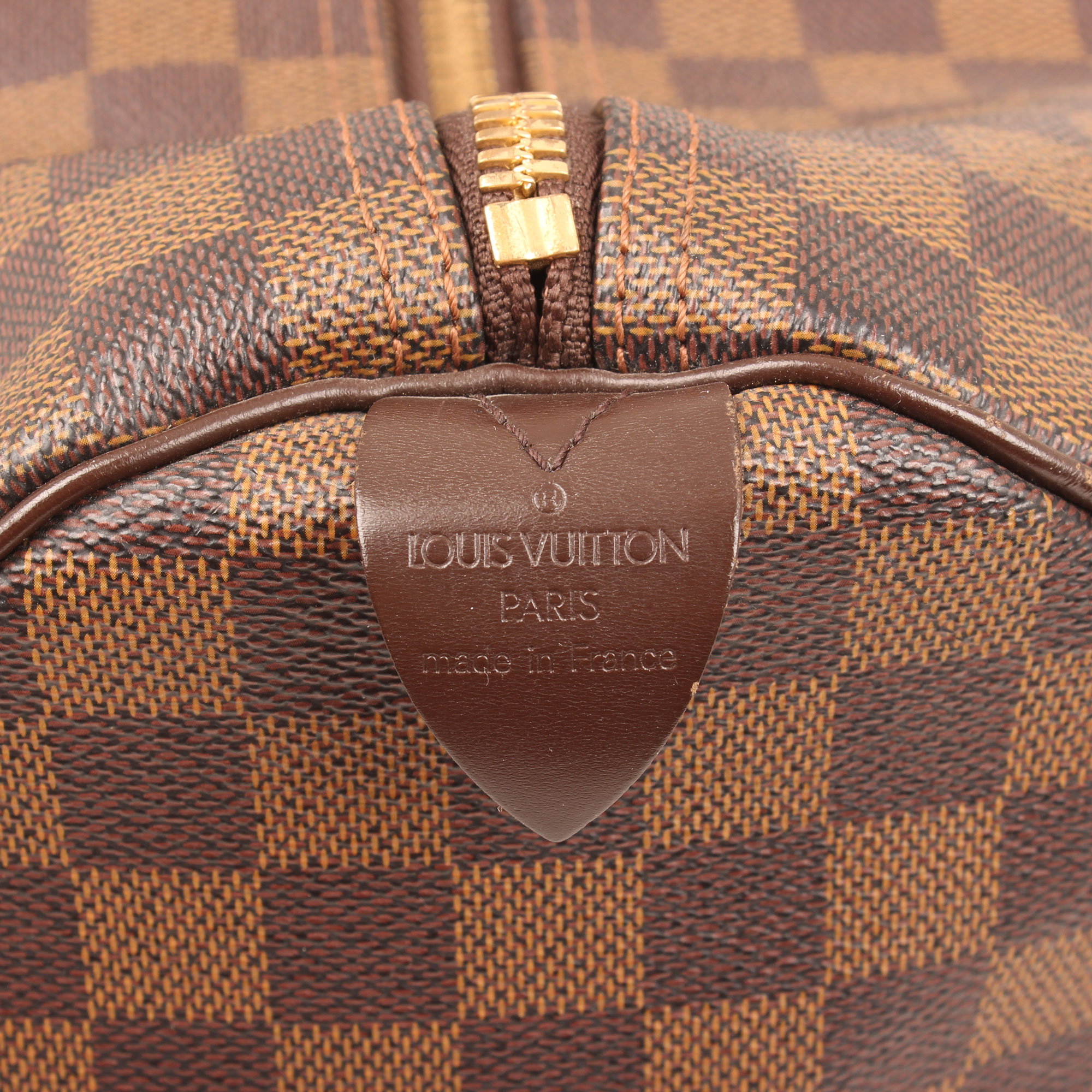 20a1b3fac Louis Vuitton Keepall 50 Damier Ébène Canvas Travel Bag I CBL Bags