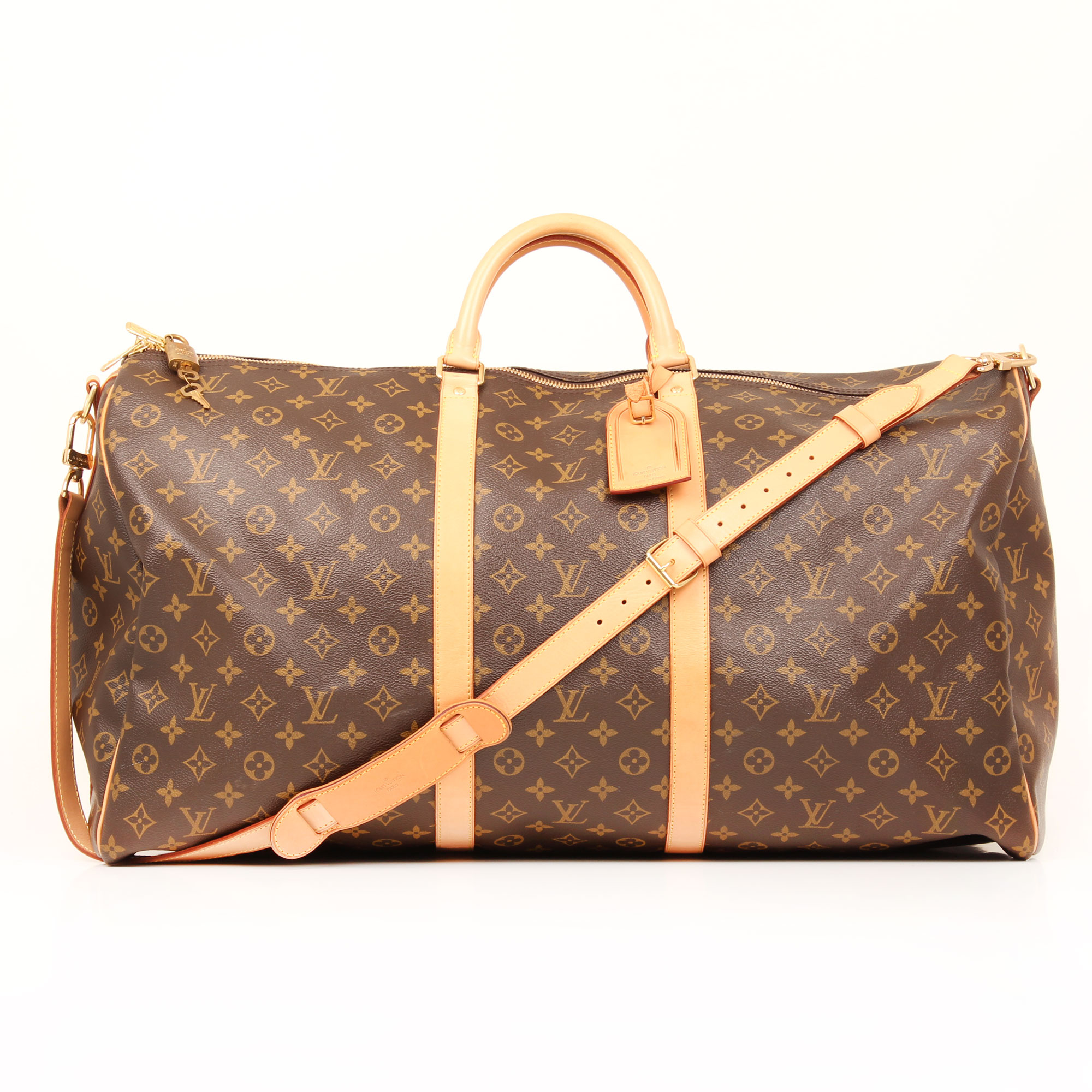 travel-bag-louis-vuitton-keepall-60-monogram-front