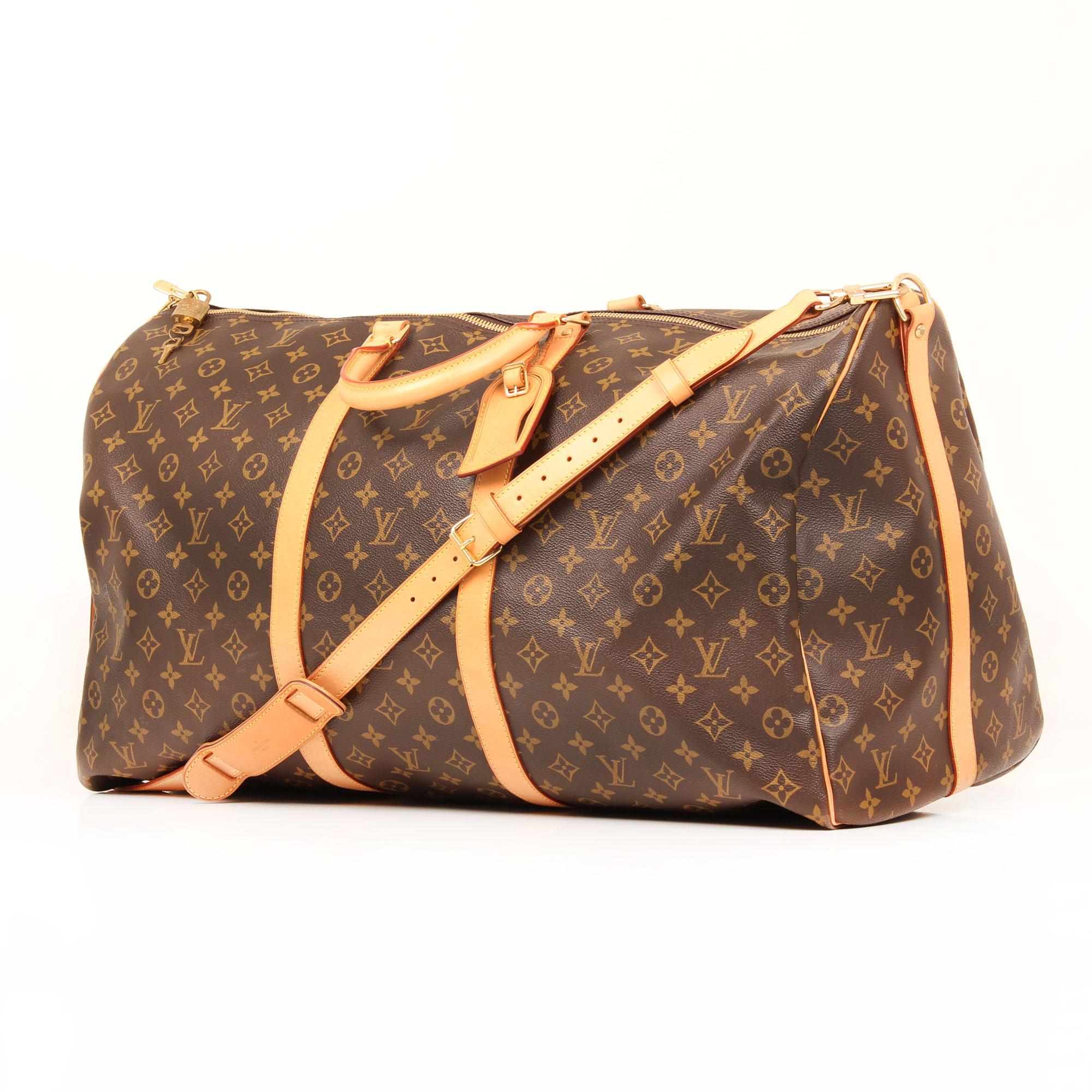 travel-bag-louis-vuitton-keepall-60-monogram-side