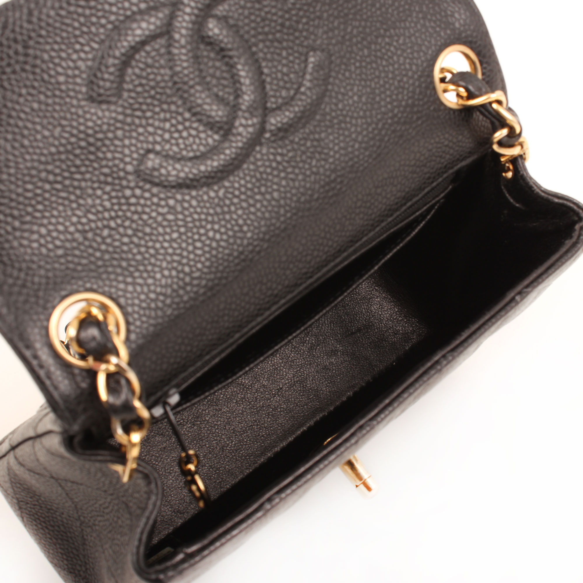 bolso-chanel-mini-caviar-negro-single-flap-interior