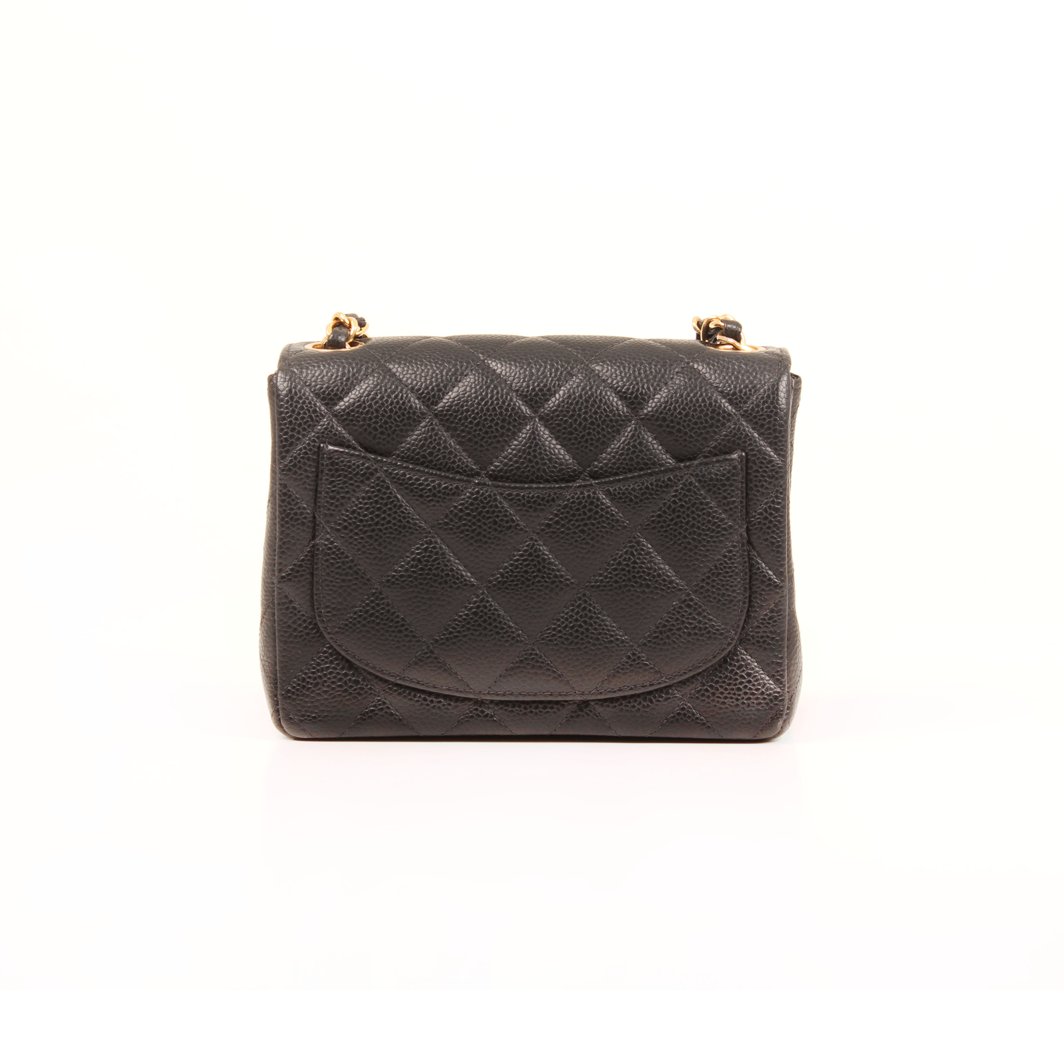 bolso-chanel-timeless-mini-caviar-single-flap-piel-negro-trasera