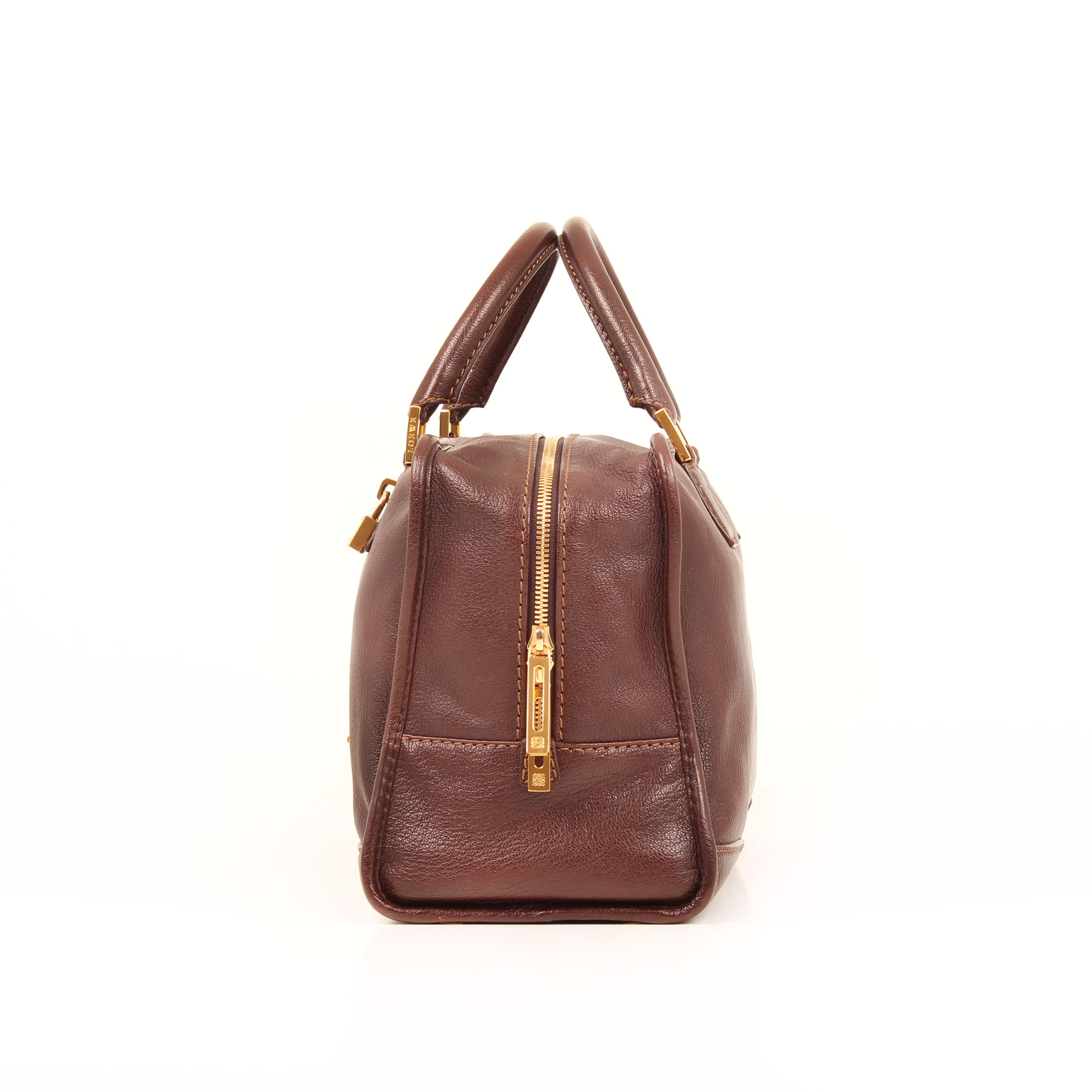 handbag-loewe-amazona-36-leather-brown-side