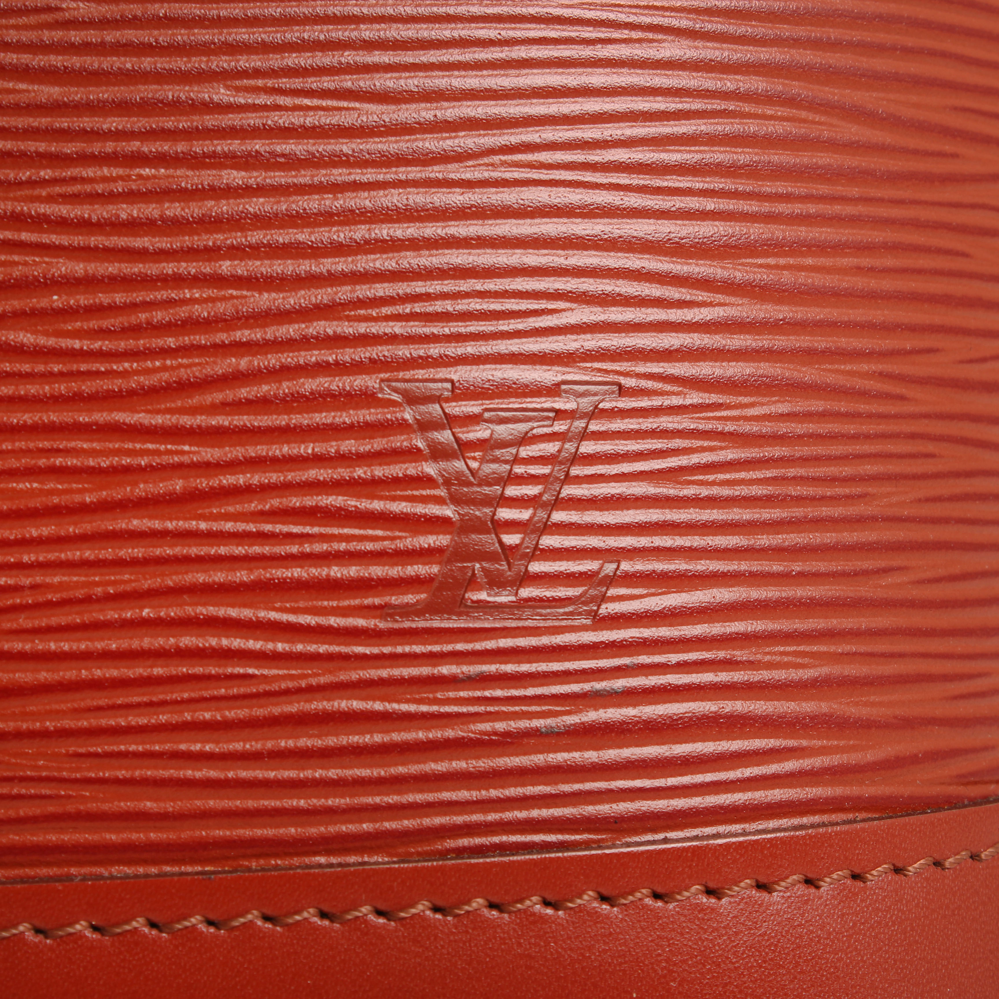 bolso louis vuitton alma pm epi marron logo