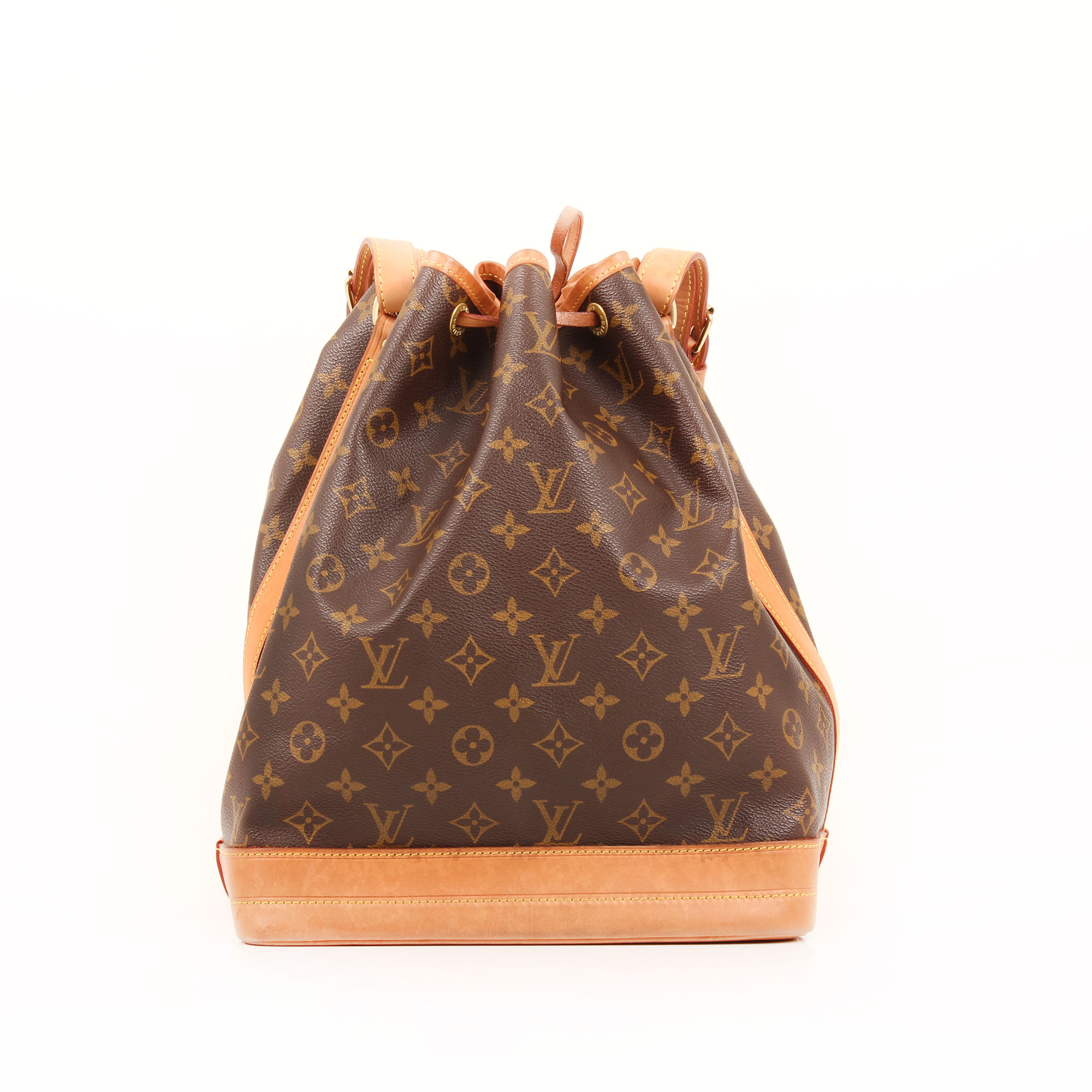 Back image of louis vuitton noe monogram bag