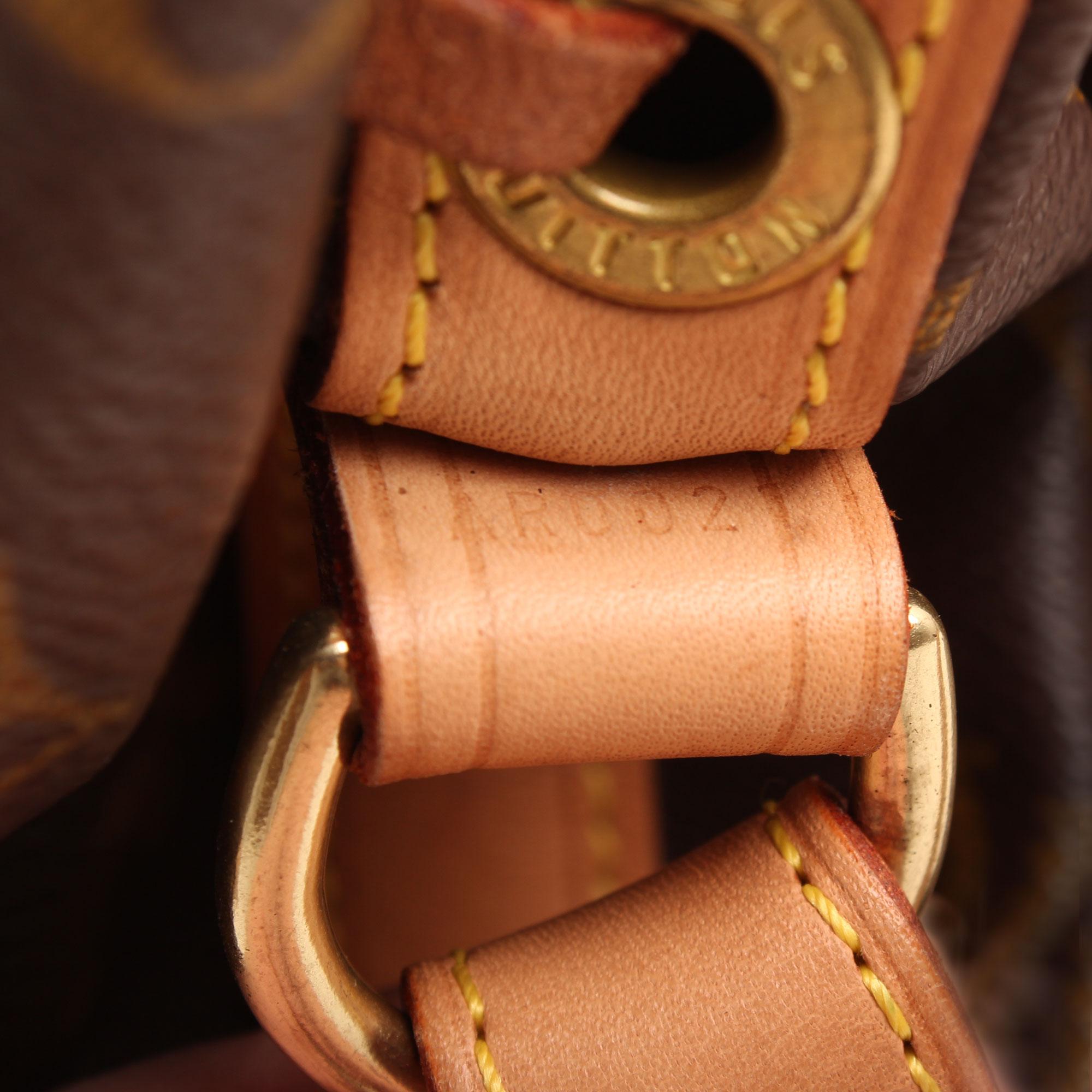 Imagen del serial del bolso louis vuitton noe monogram