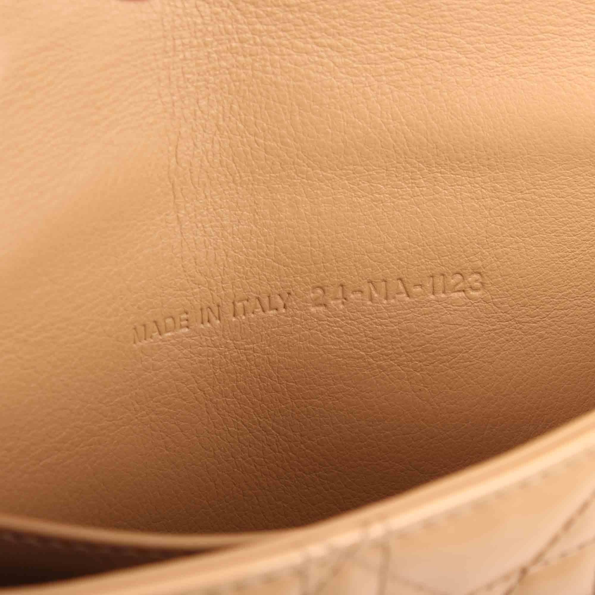 Imagen del serial del bolso miss dior new look promenade charol beige