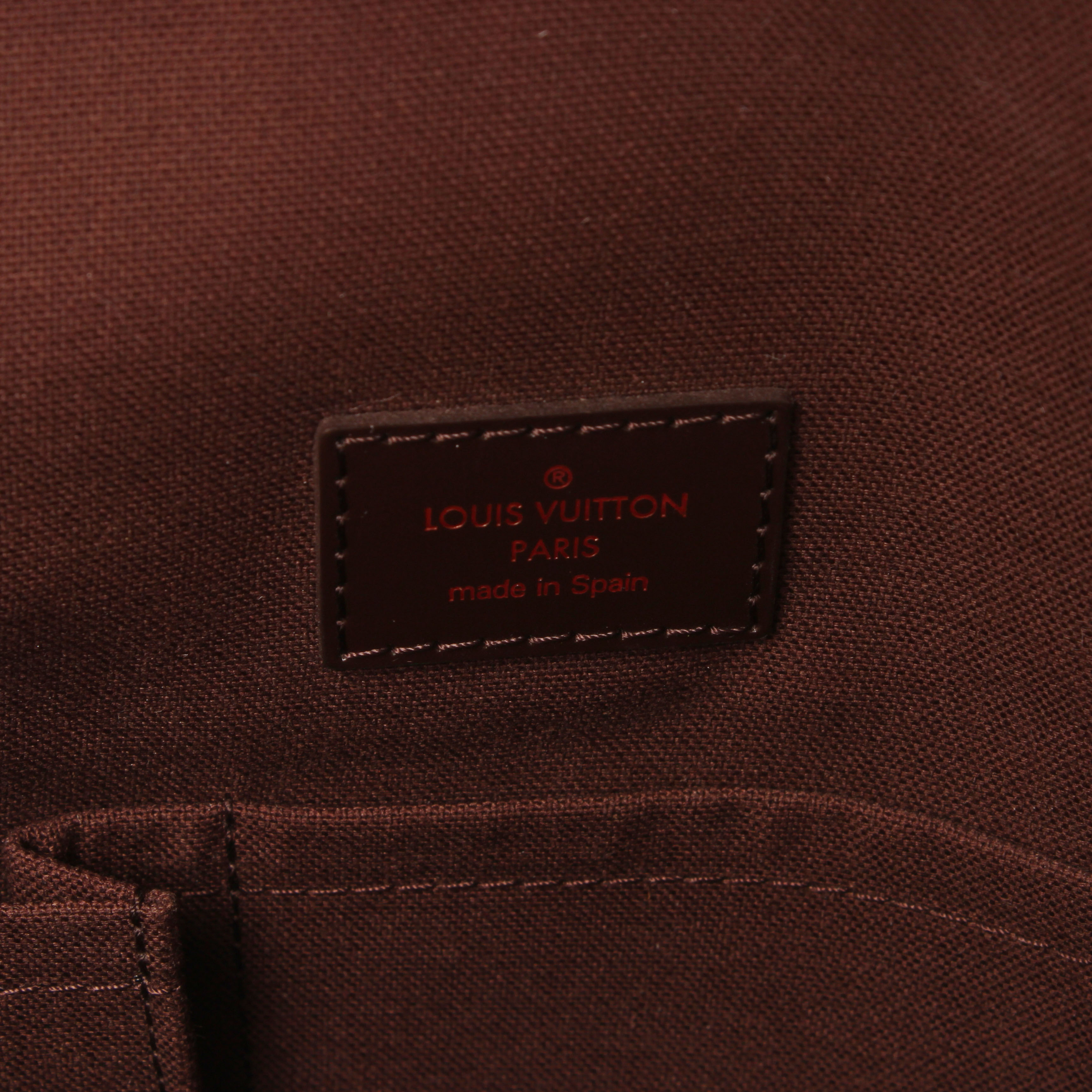 bolso bandolera louis vuitton brooklyn damier ebene marca