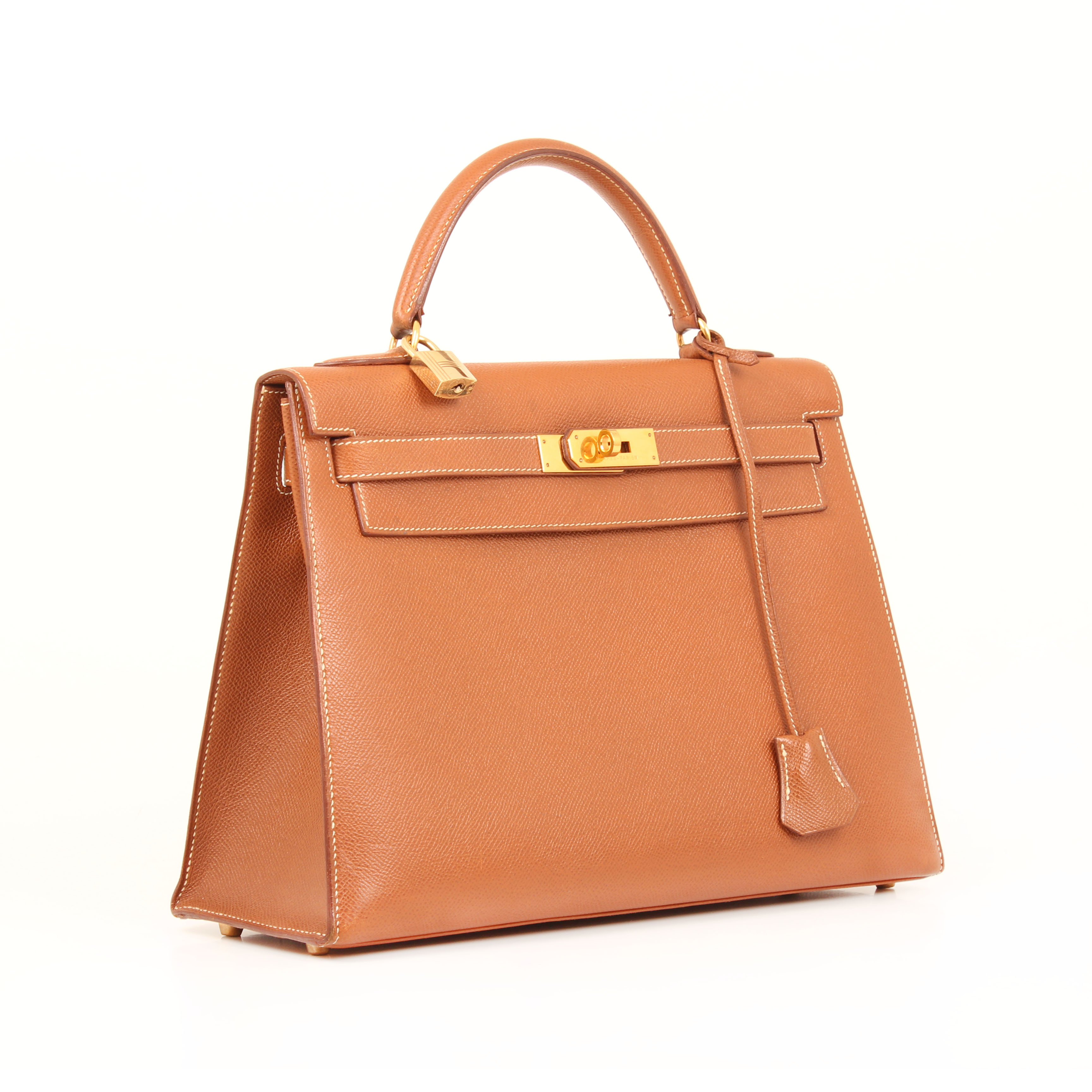 bolso hermes kelly 32 gold sellier piel epsom general