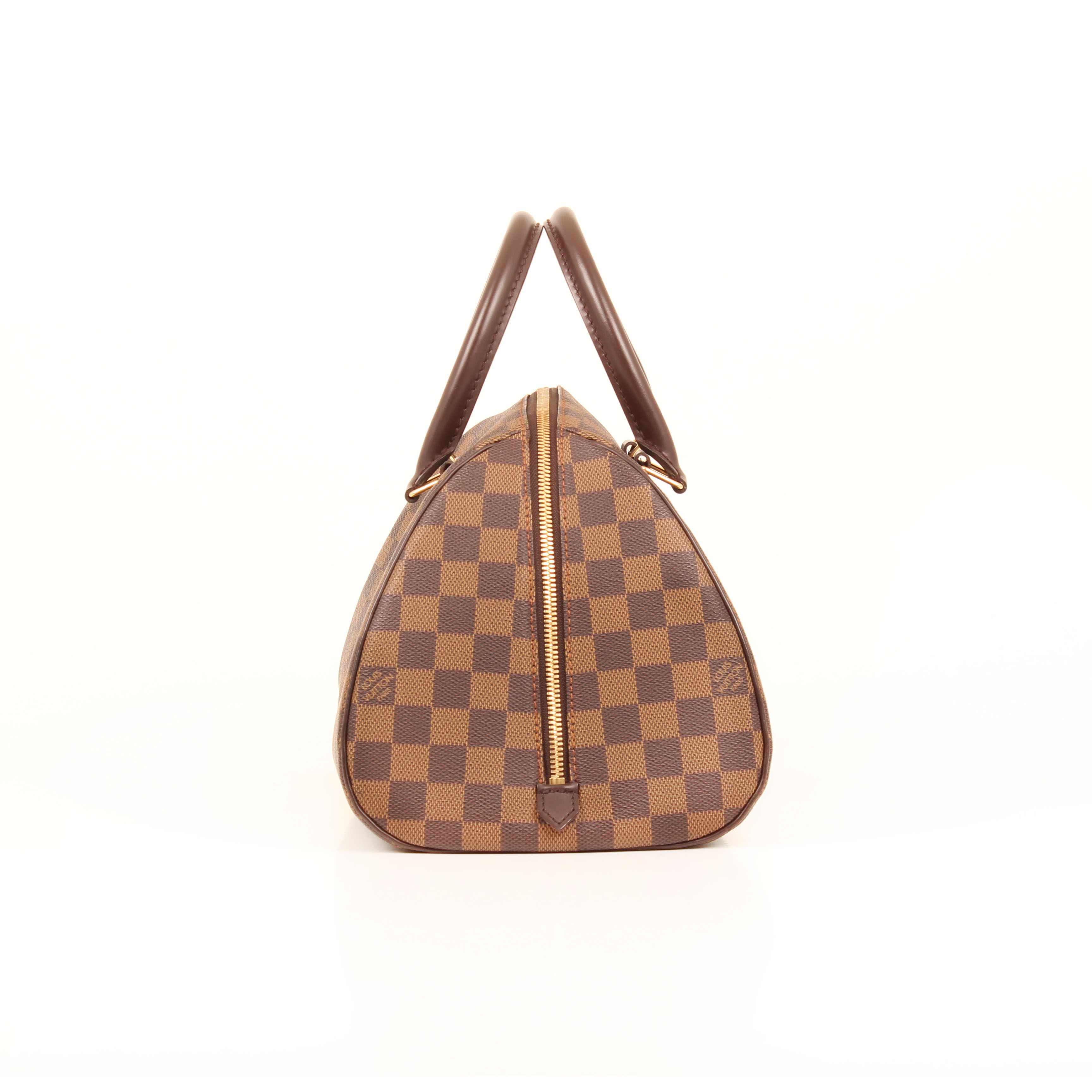 handbag louis vuitton ribera damier ebene side