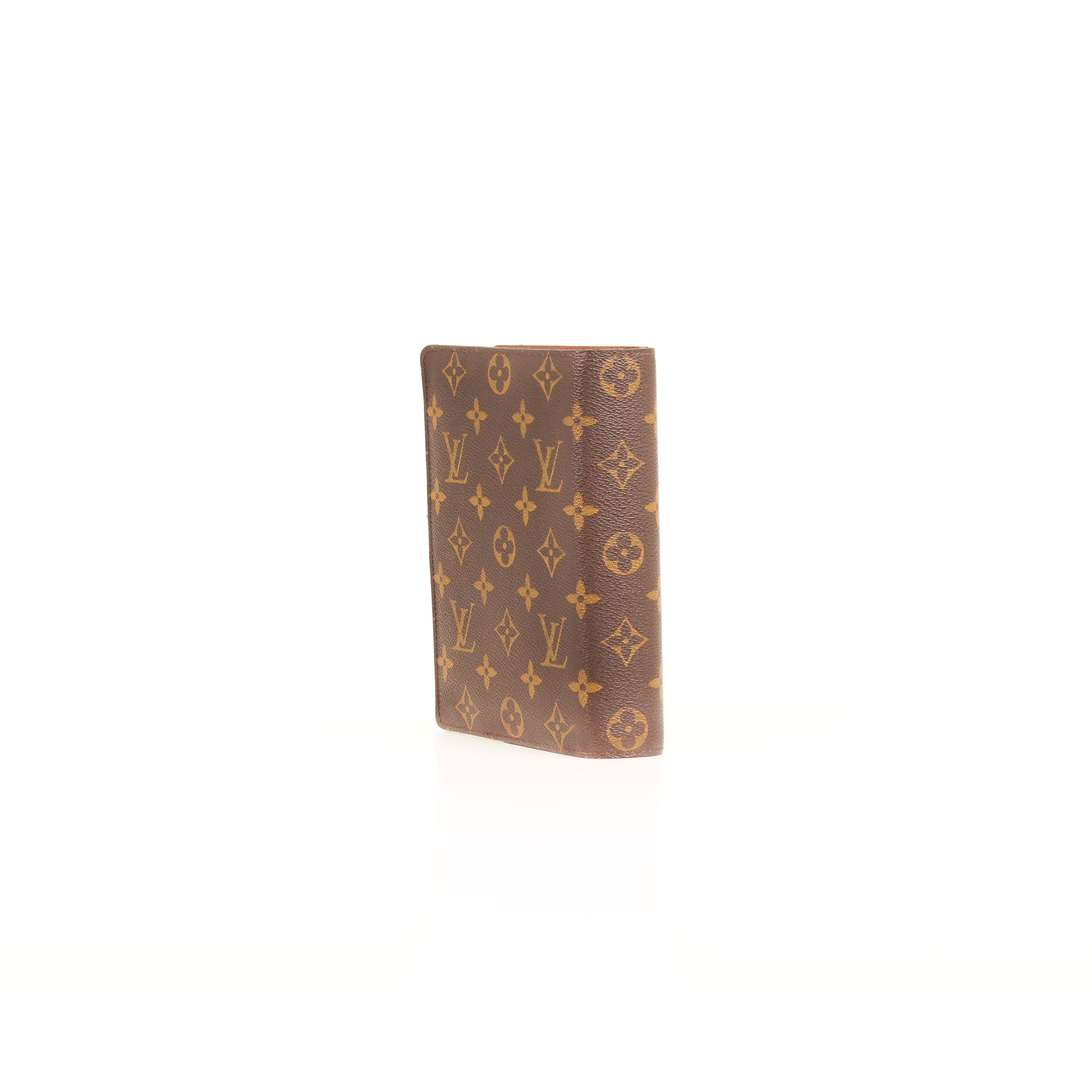 louis vuitton agenda cover medium ring monogram side