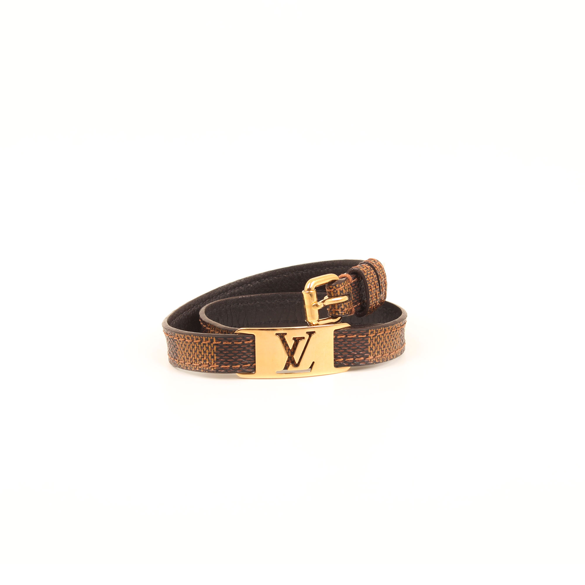 Imagen completa de la pulsera louis vuitton sign it damier