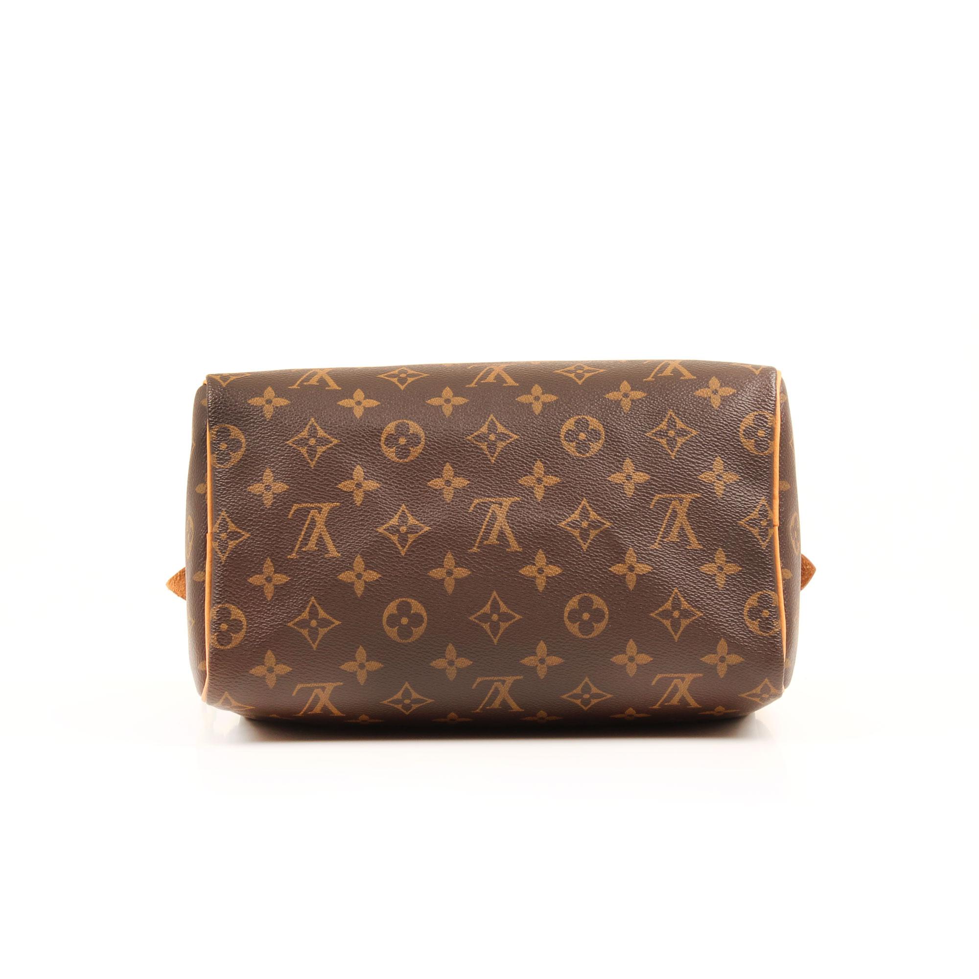 handbag louis vuitton speedy 25 monogram bottom