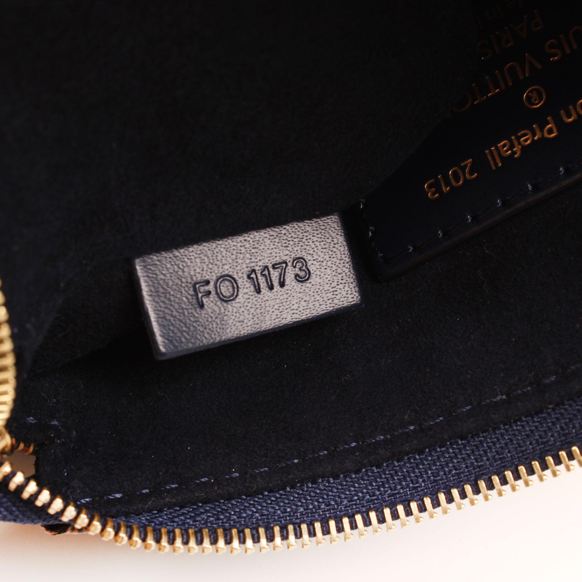Imagen del serial del pochette louis vuitton damier paillettes mini accessories