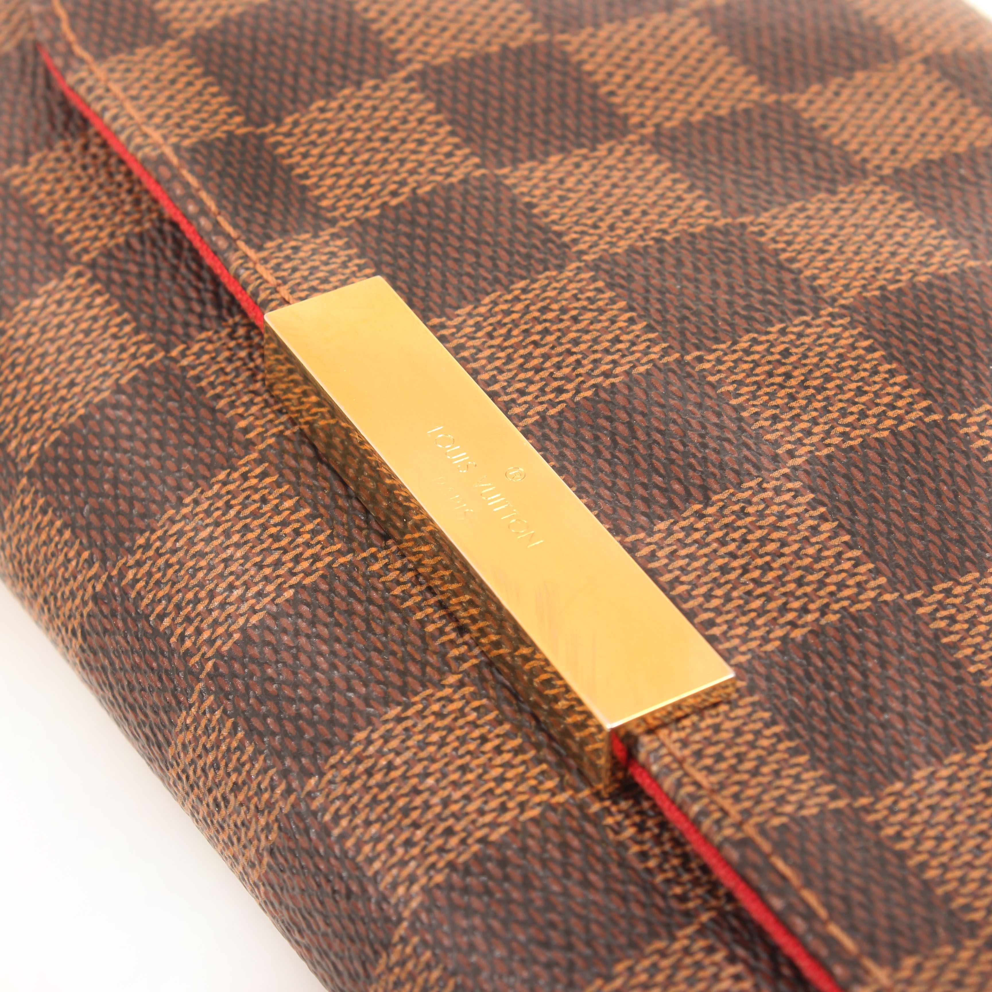 clutch louis vuitton favorite pm damier ebene clasp
