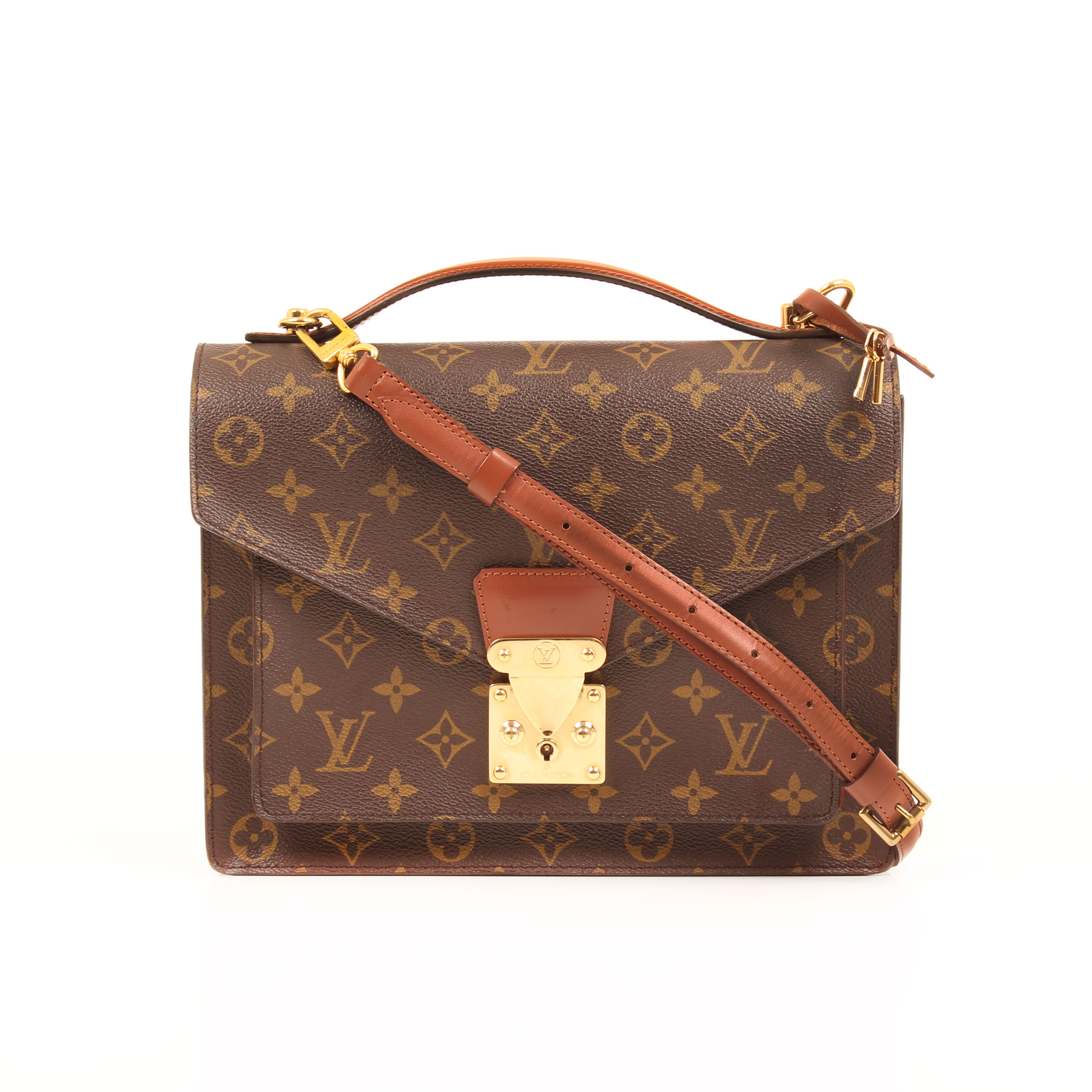 192145954a42 Front image of louis vuitton bag monceau 28 monogram strap