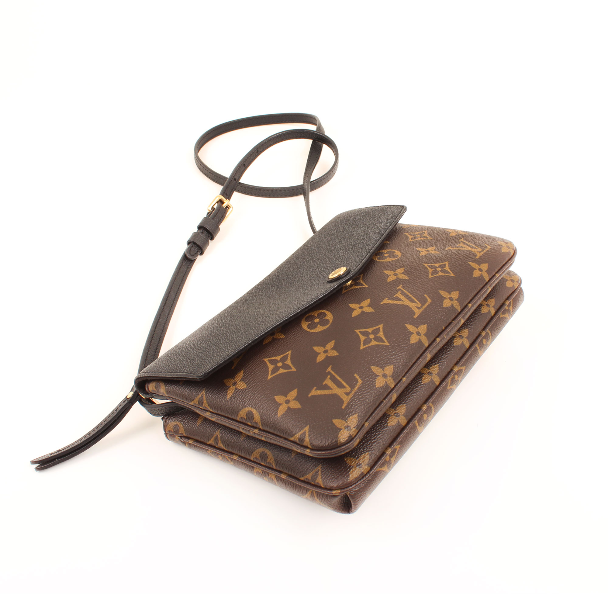 Imagen general del bolso louis vuitton twice bandolera monogram