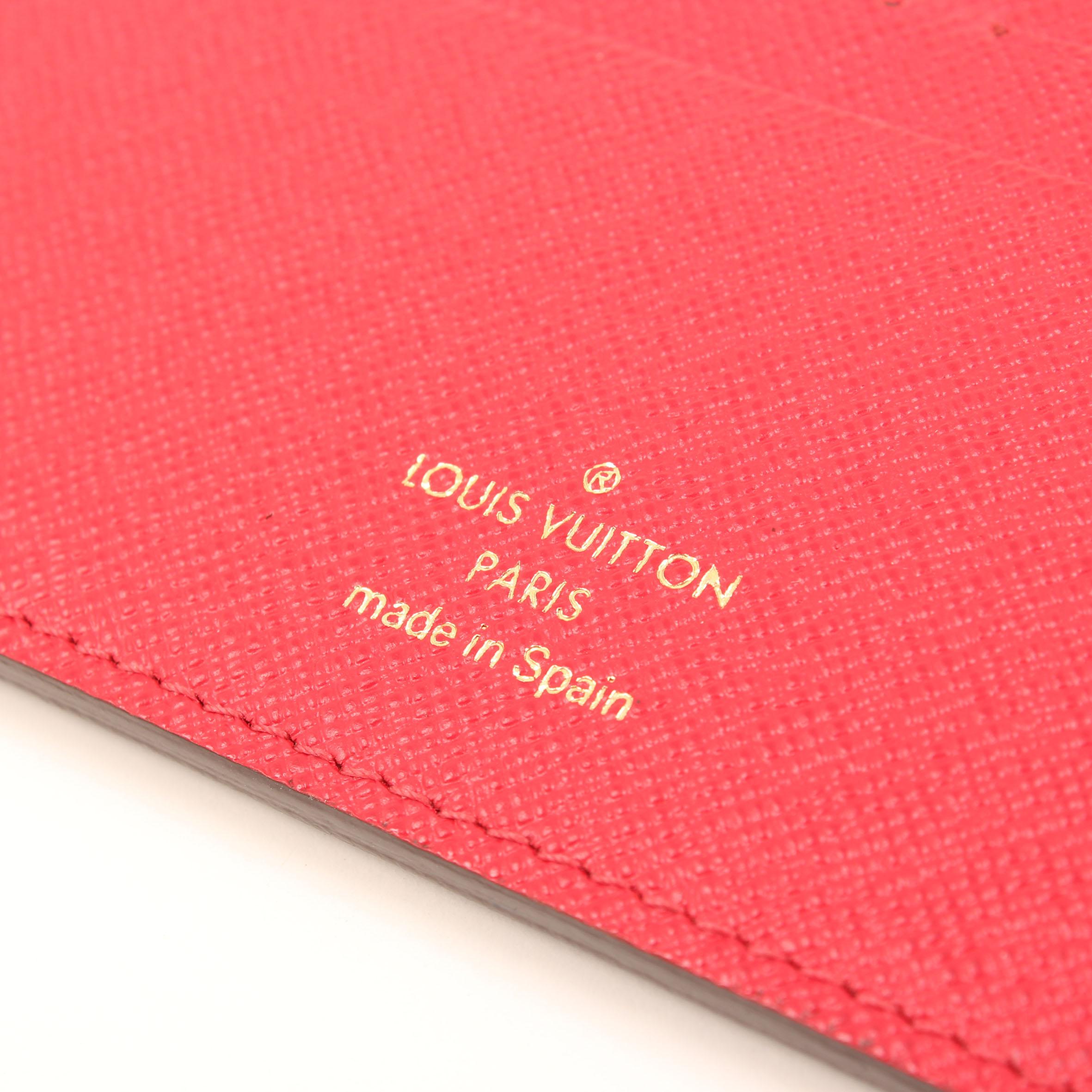 Imagen de la marca de louis vuitton insolite monogram interior rojo