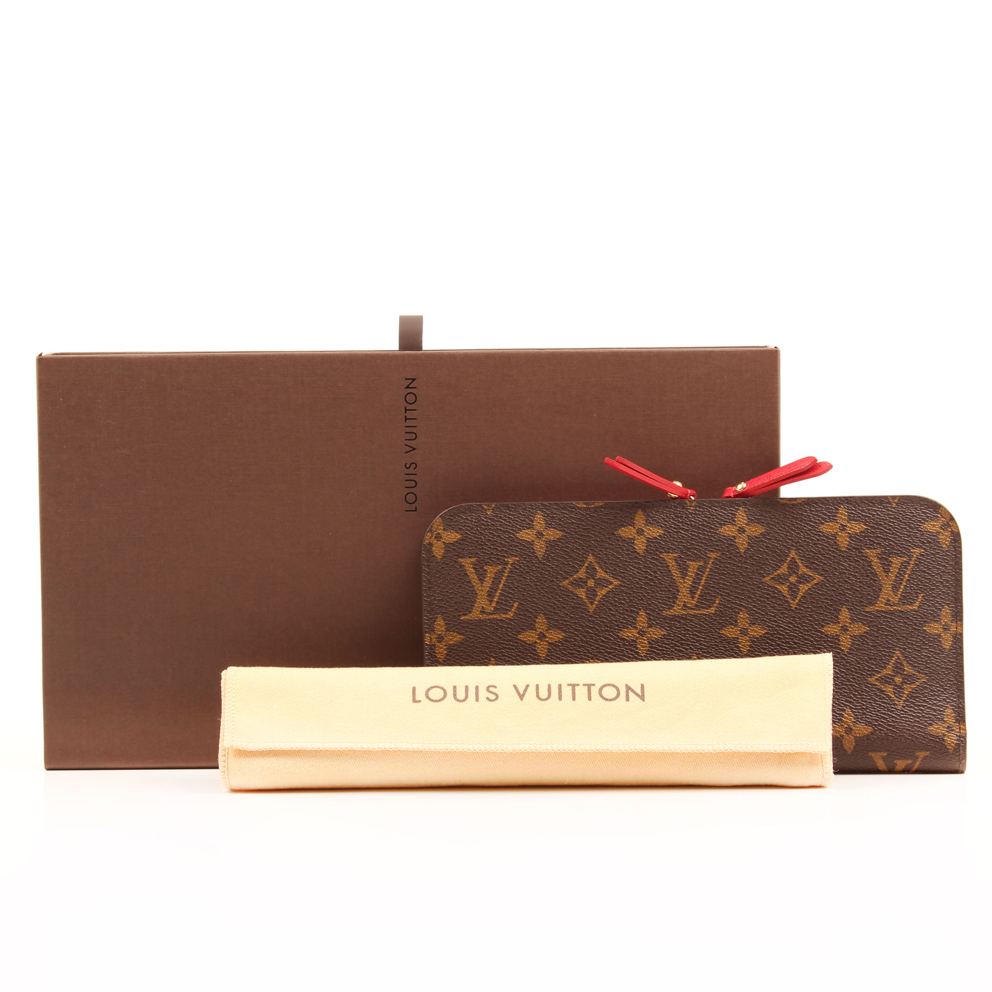 Extras image of louis vuitton insolite monogram red wallet