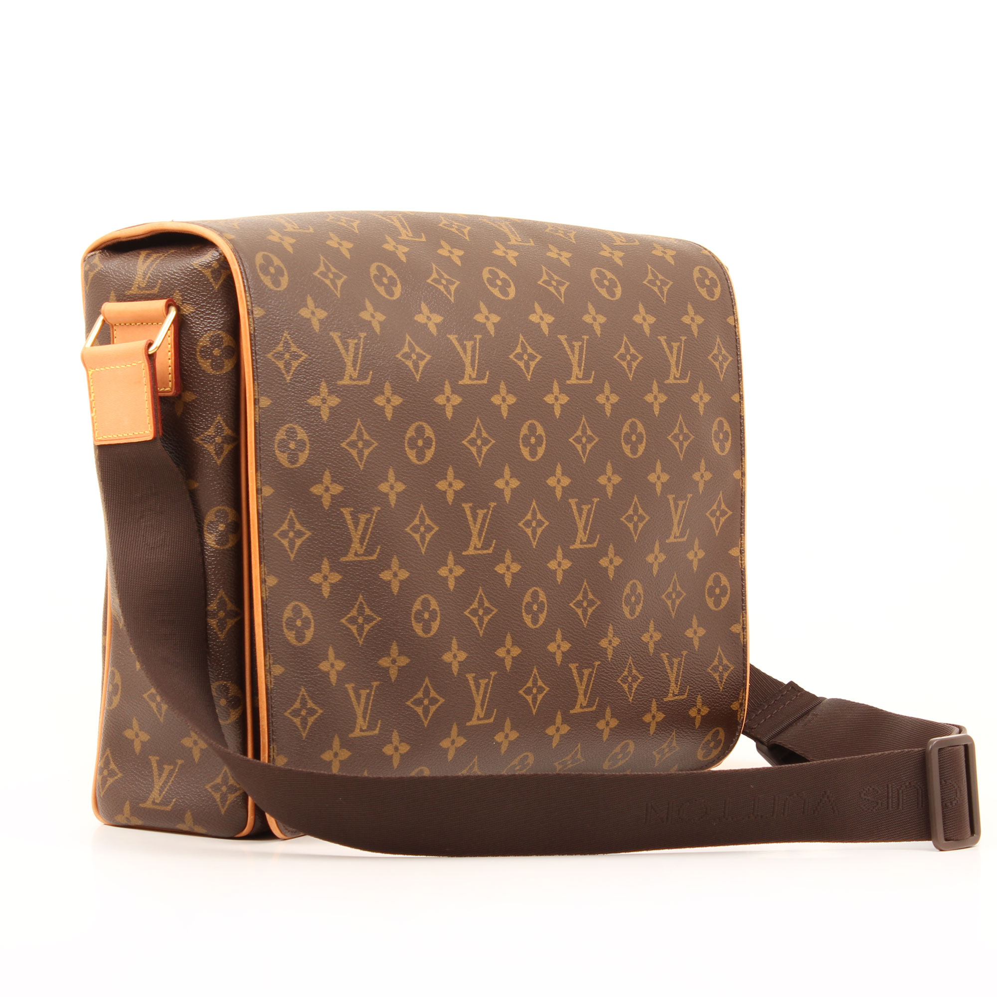 Imagen general de la bandolera louis vuitton abbesses monogram