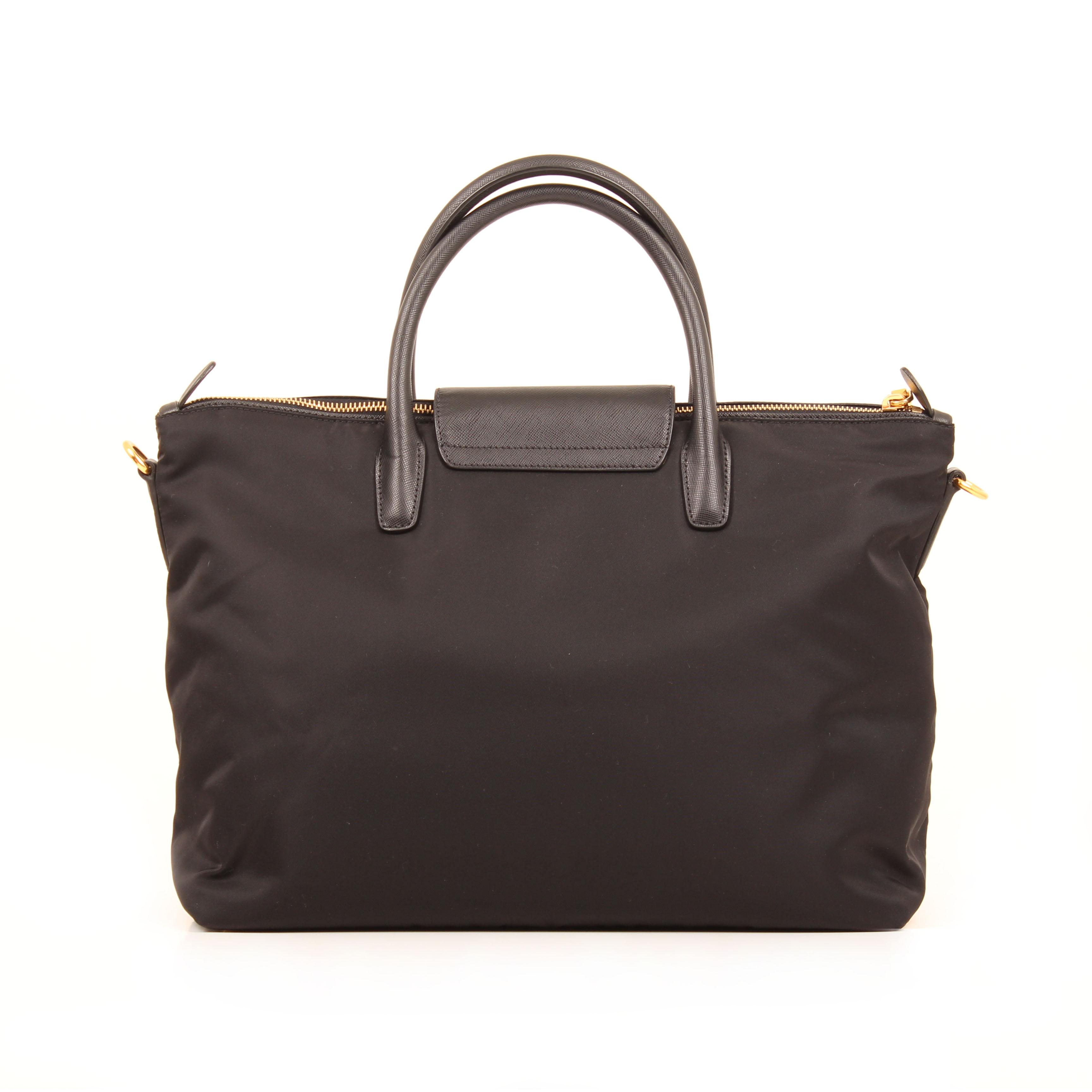 Prada Bag Nylon Saffiano Leather Black Crossbody BN2106 I CBL Bags 64c2ae0d02fde