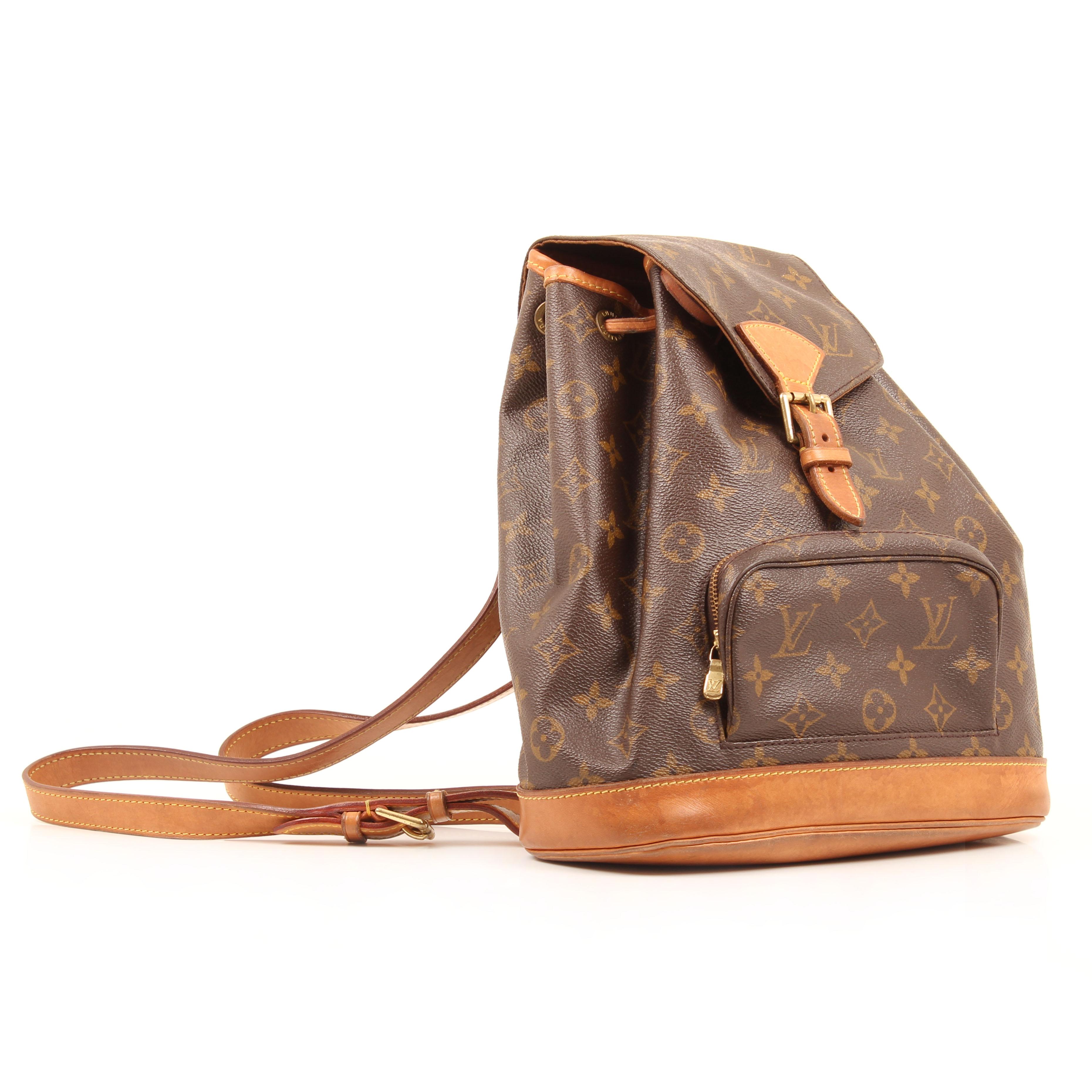 backpack louis vuitton montsouris pm monogram vintage general