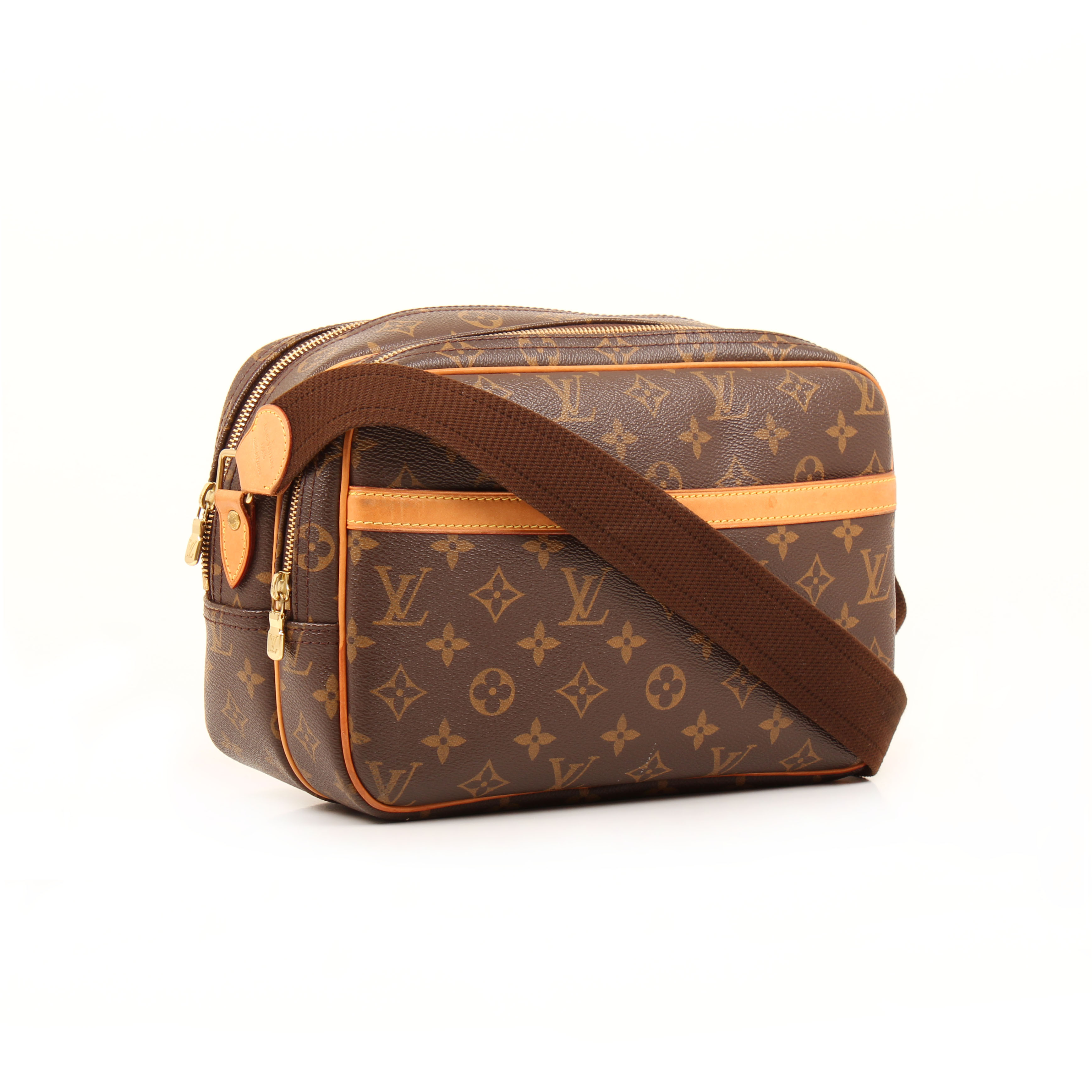 bolso bandolera louis vuitton reporter pm monogram lateral