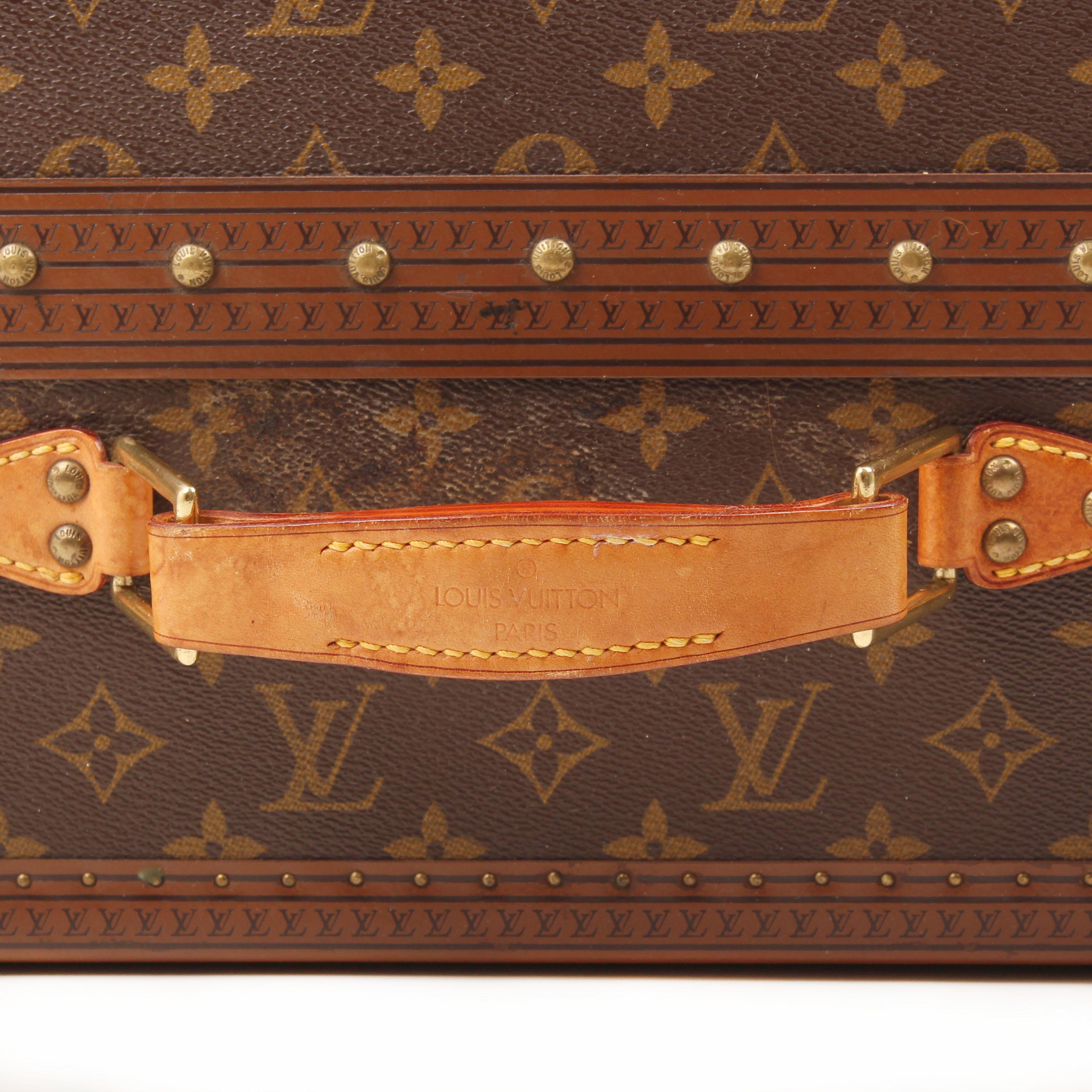 louis vuitton gemine shoe trunk 12 pairs monogram handle