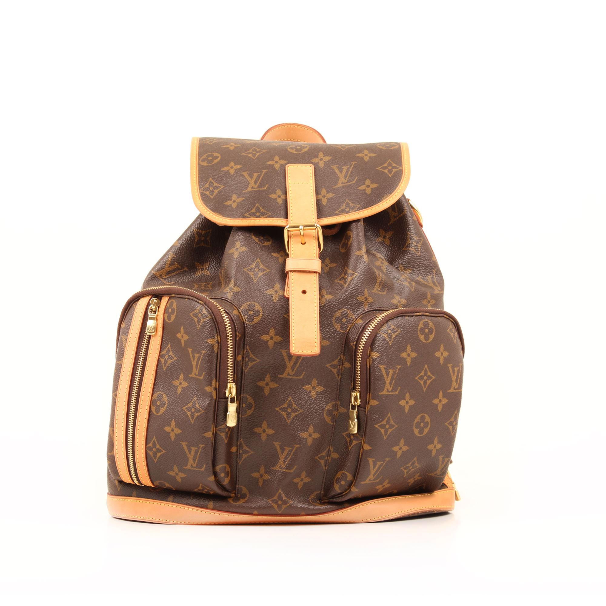 51854e46a818 louis vuitton bosphore monogram backpack front