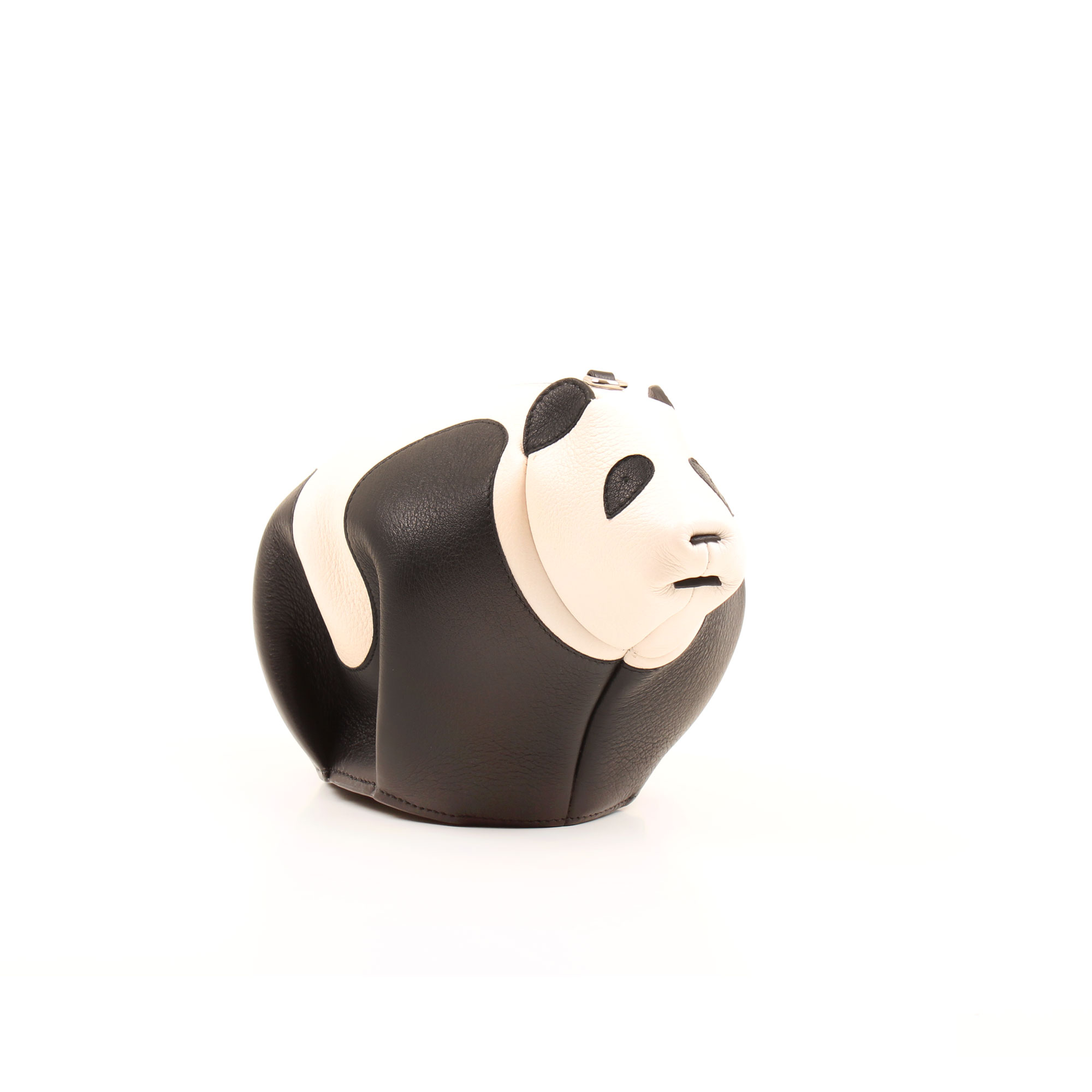General image of loewe mini panda leather bag