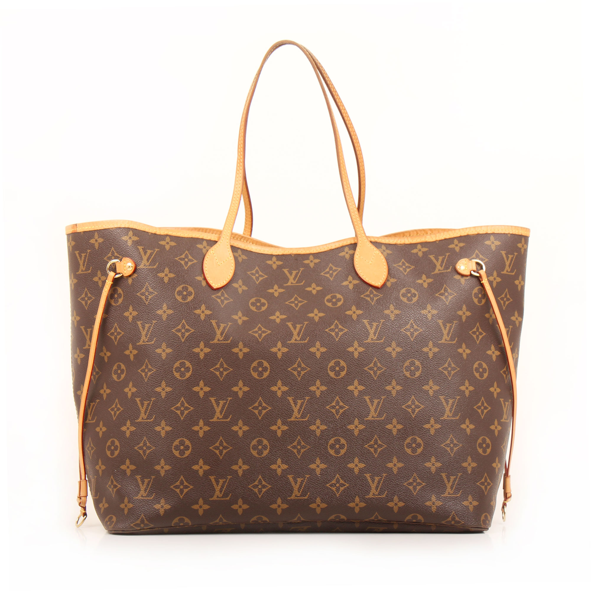 Front image of louis vuitton neverfull gm monogram