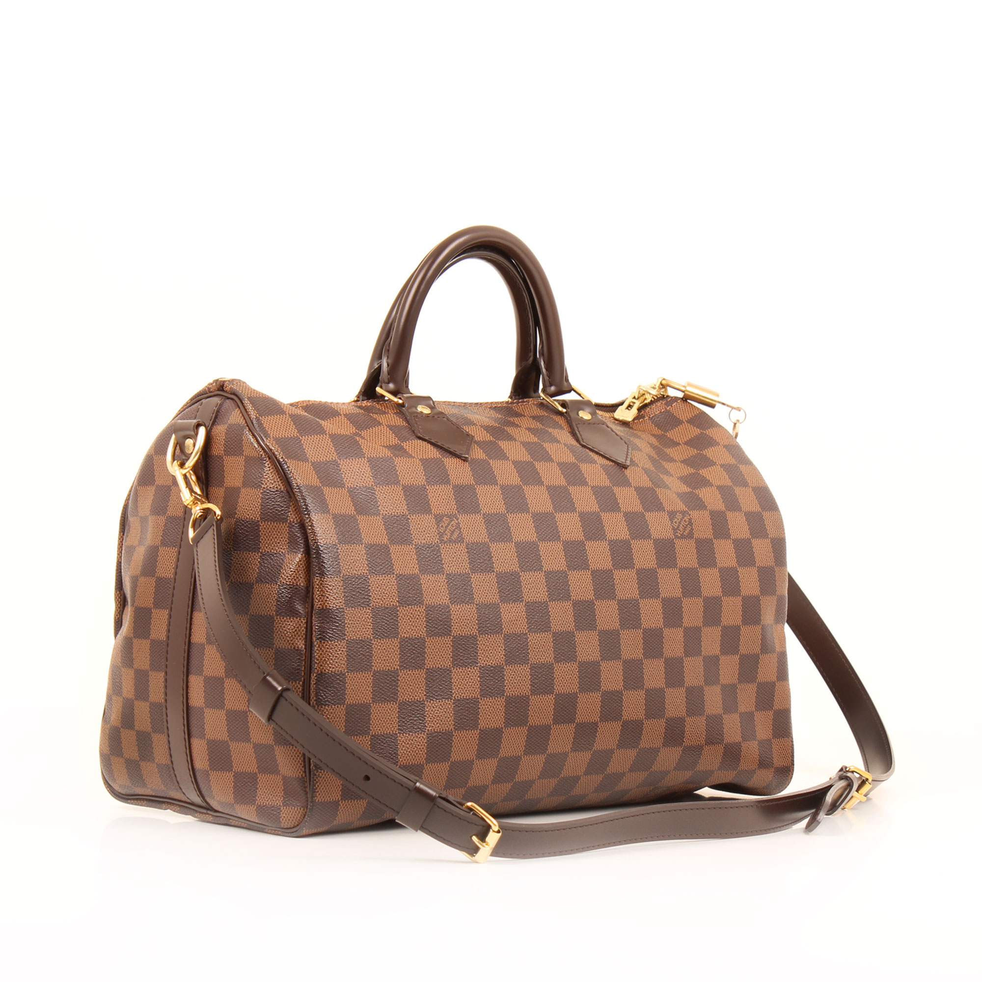 d957e1de5998 General image of louis vuitton speedy 35 bandouliere damier ebene bag