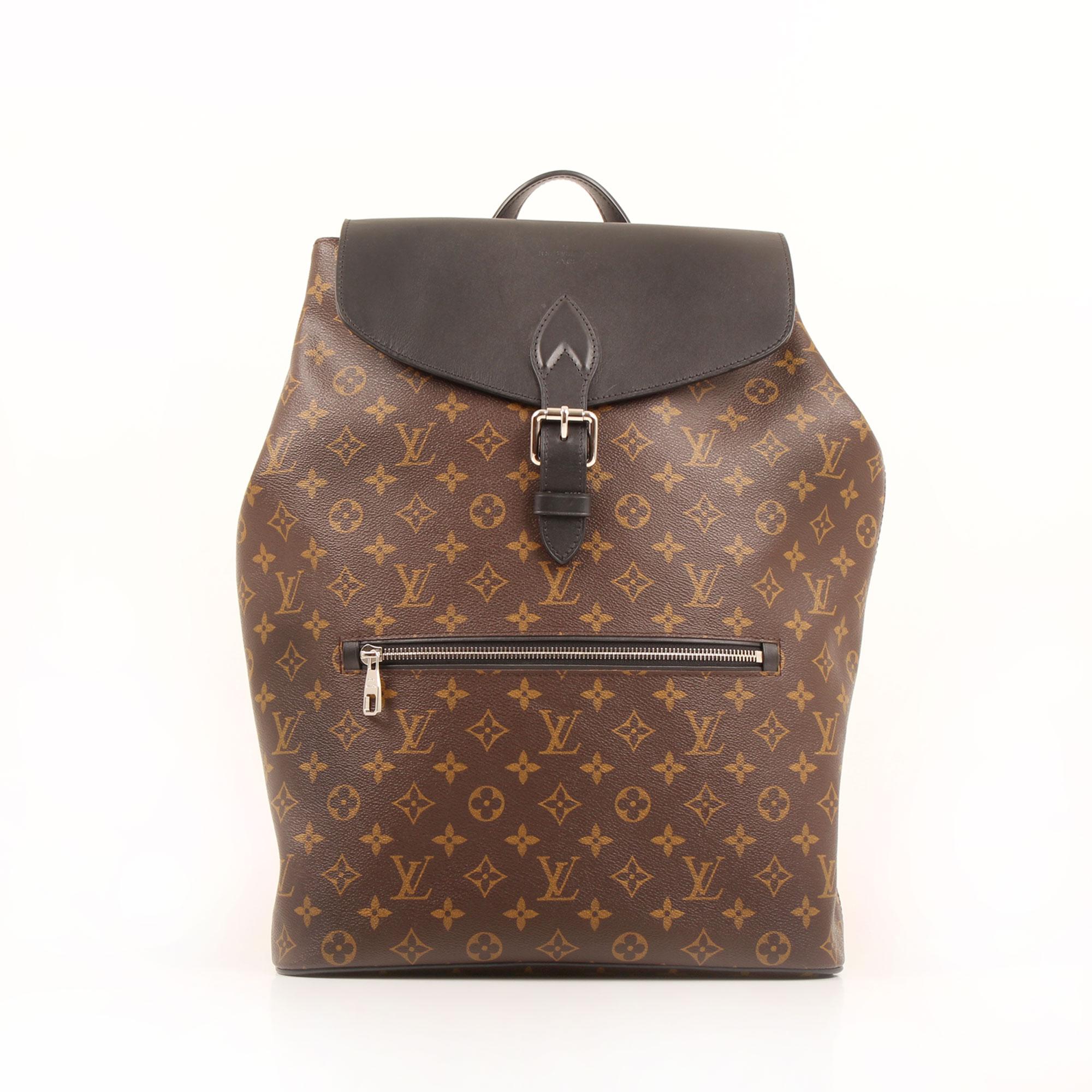 General image of louis vuitton palk monogram macassar backpack