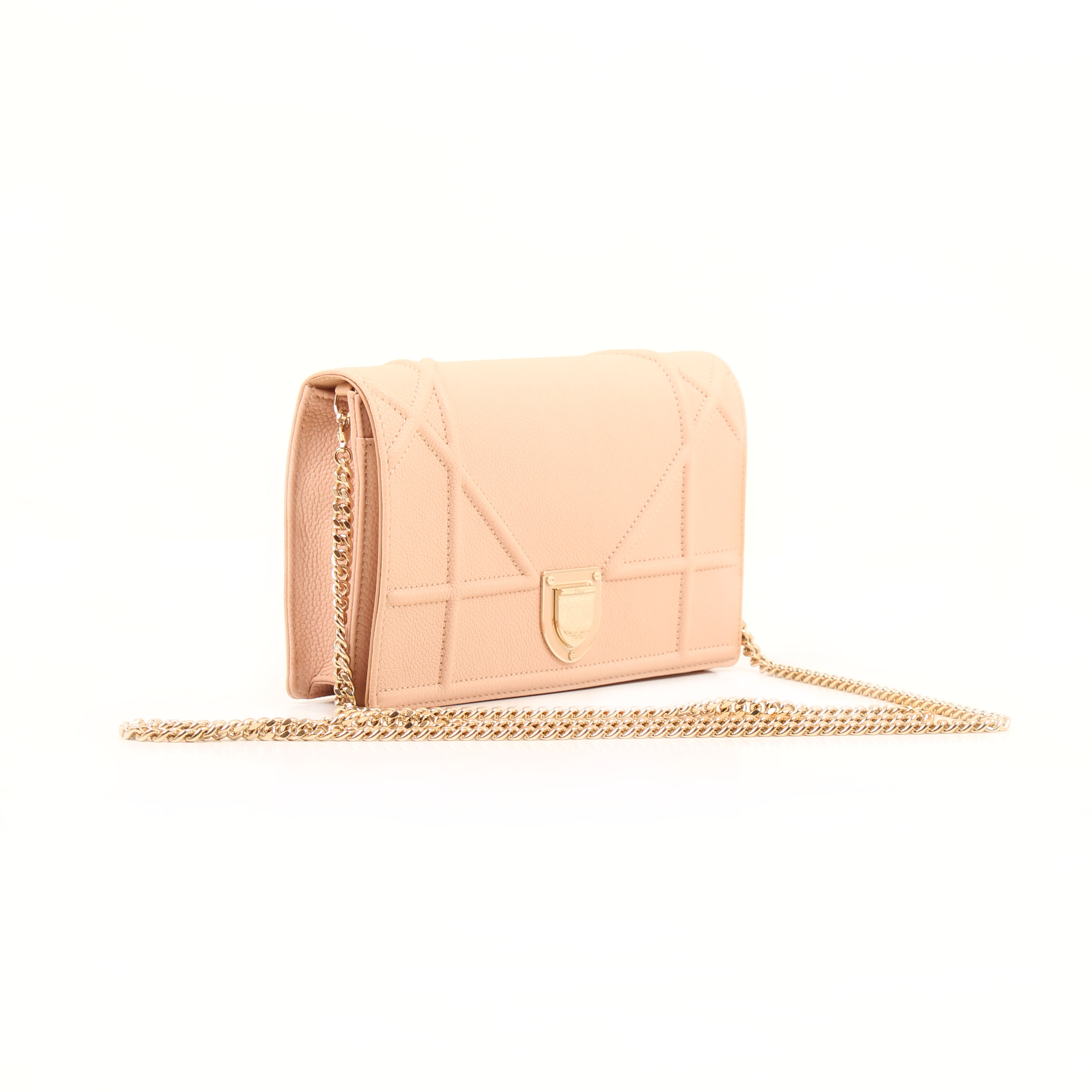wallet on chain dior diorama pouch rosa nude general