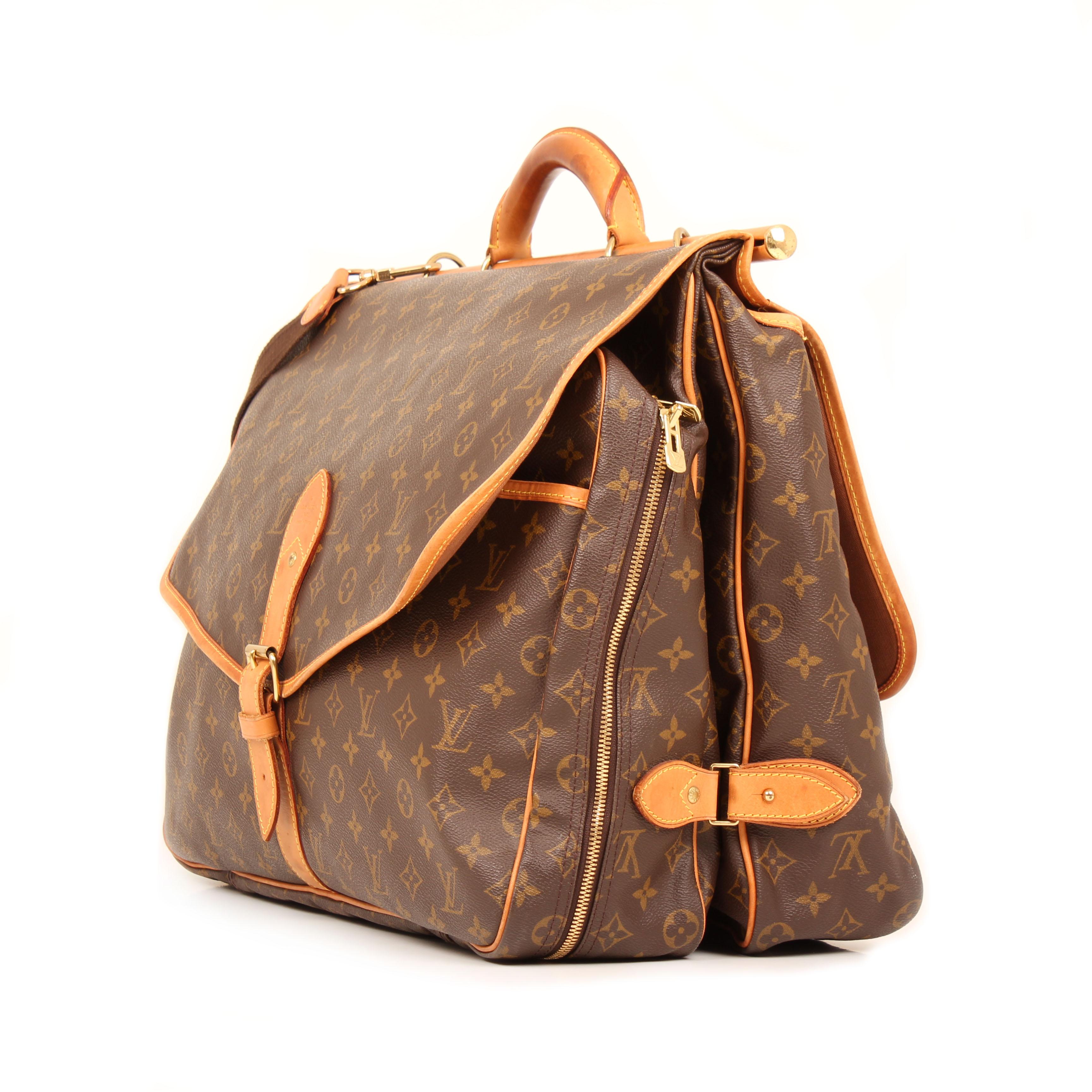 bolsa de viaje louis vuitton sac chasse monogram lateral