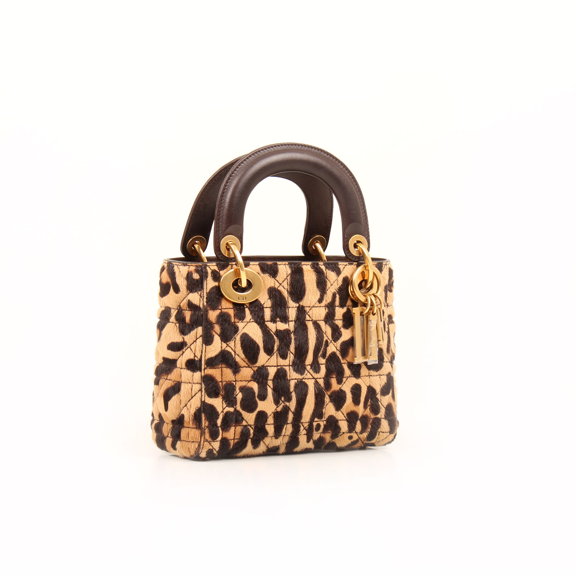 Imagen general del bolso dior lady dior mini animal print pony calfskin