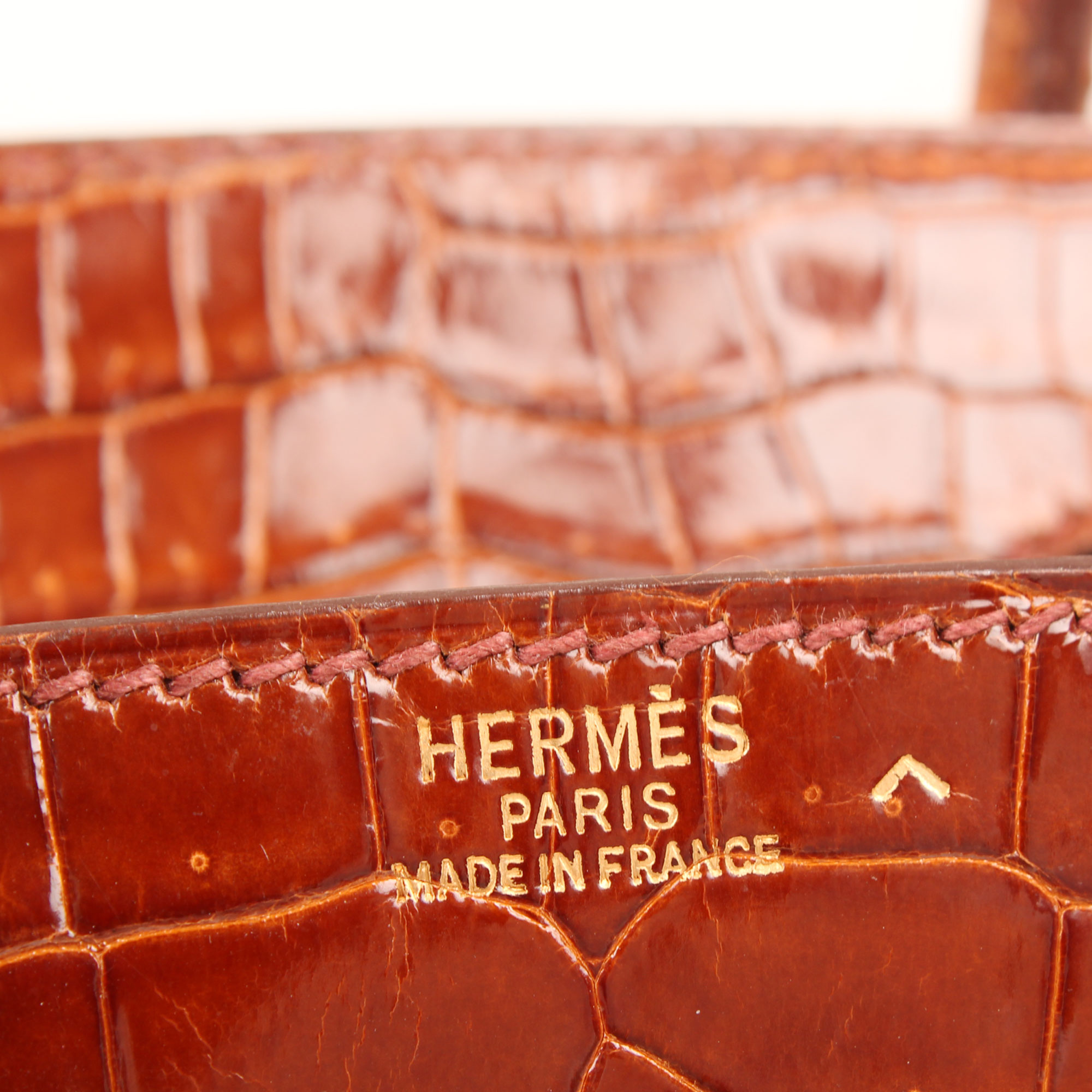 Brand detail image of hermes birkin 25 poroso soft whisky bag