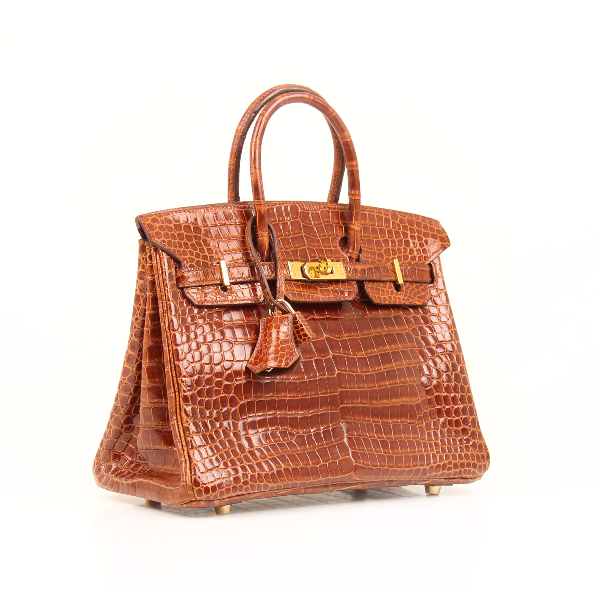 General image of hermes birkin 25 poroso soft whisky bag