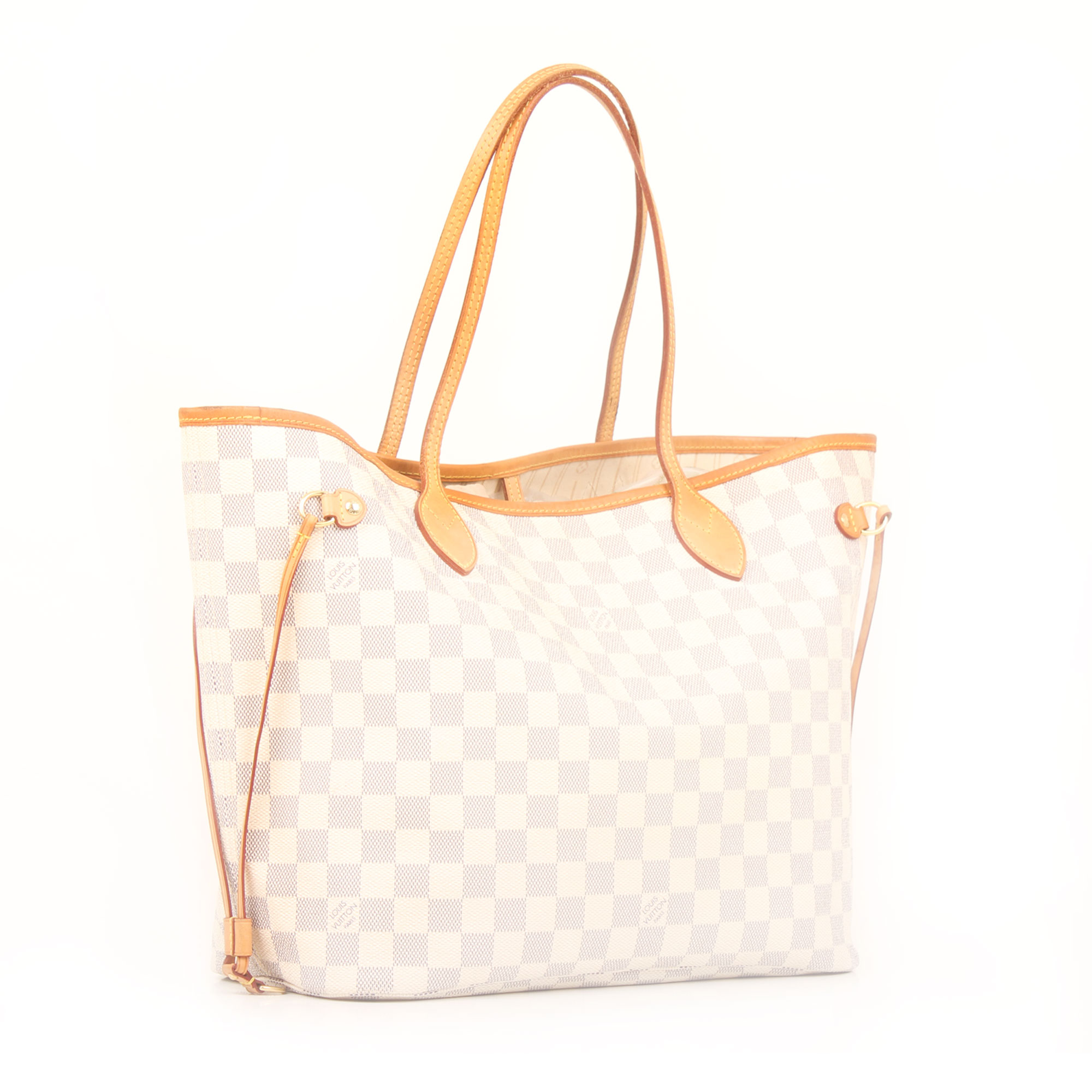 Imagen general del bolso louis vuitton neverfull mm damier azur