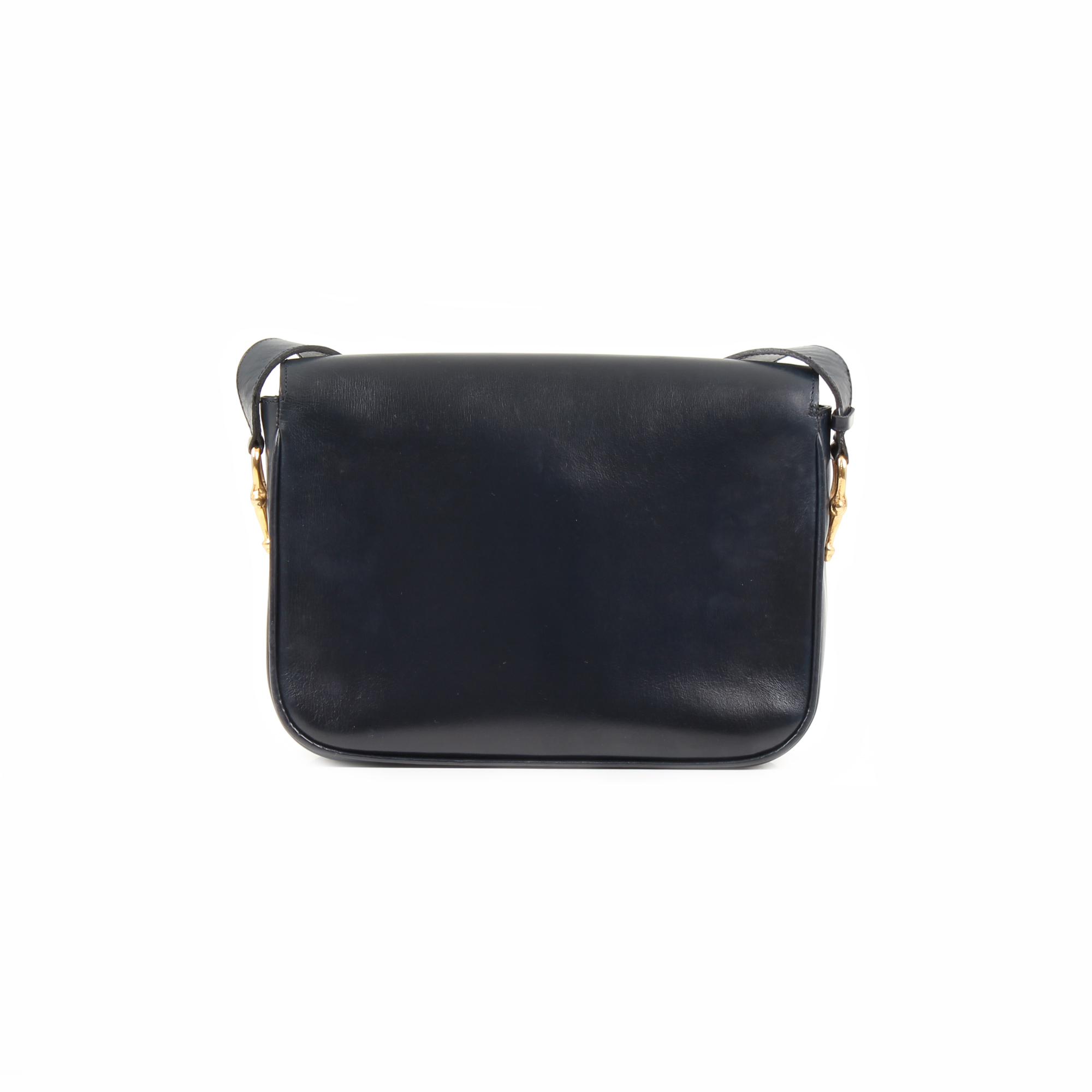 Back image of celine box vintage shoulder bag