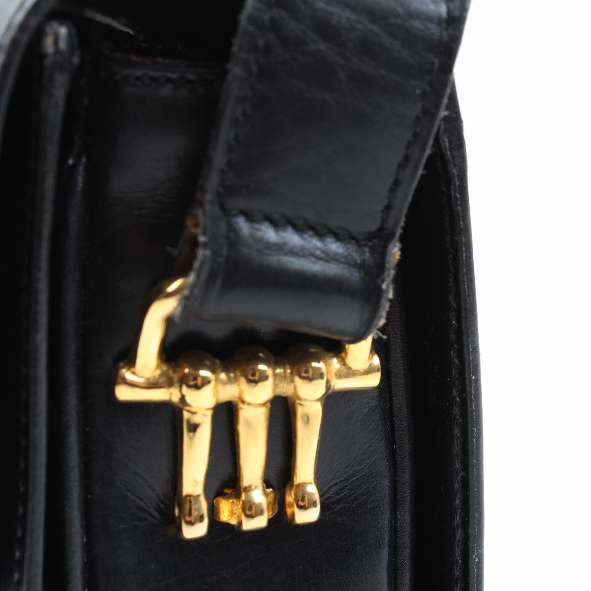 celine vintage shoulder bag hardware