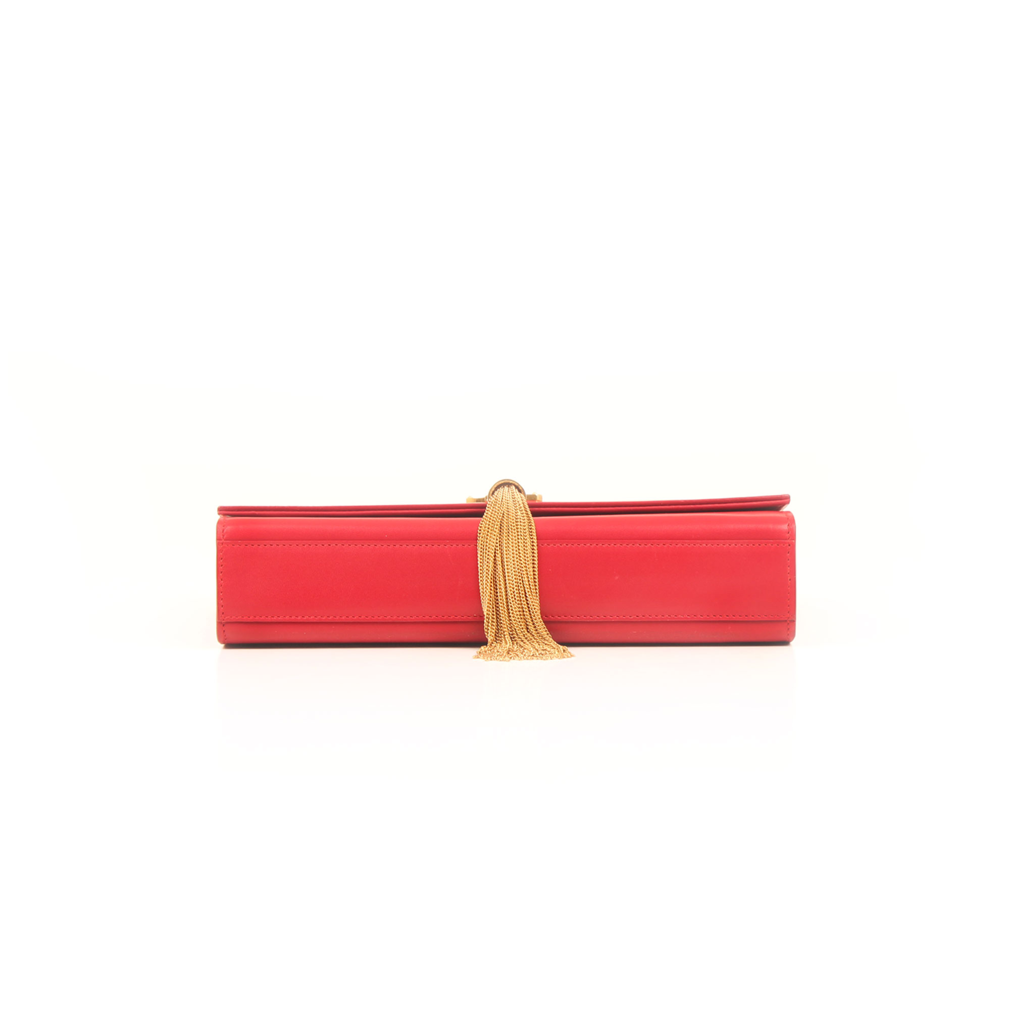 Base image of ysl kate medium bag red calfskin leather