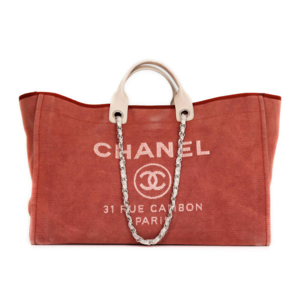 Chanel Deauville Tote GM handbag