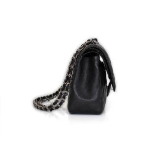 6d508dd46dc5 Chanel Timeless Jumbo Caviar Black Leather Handbag