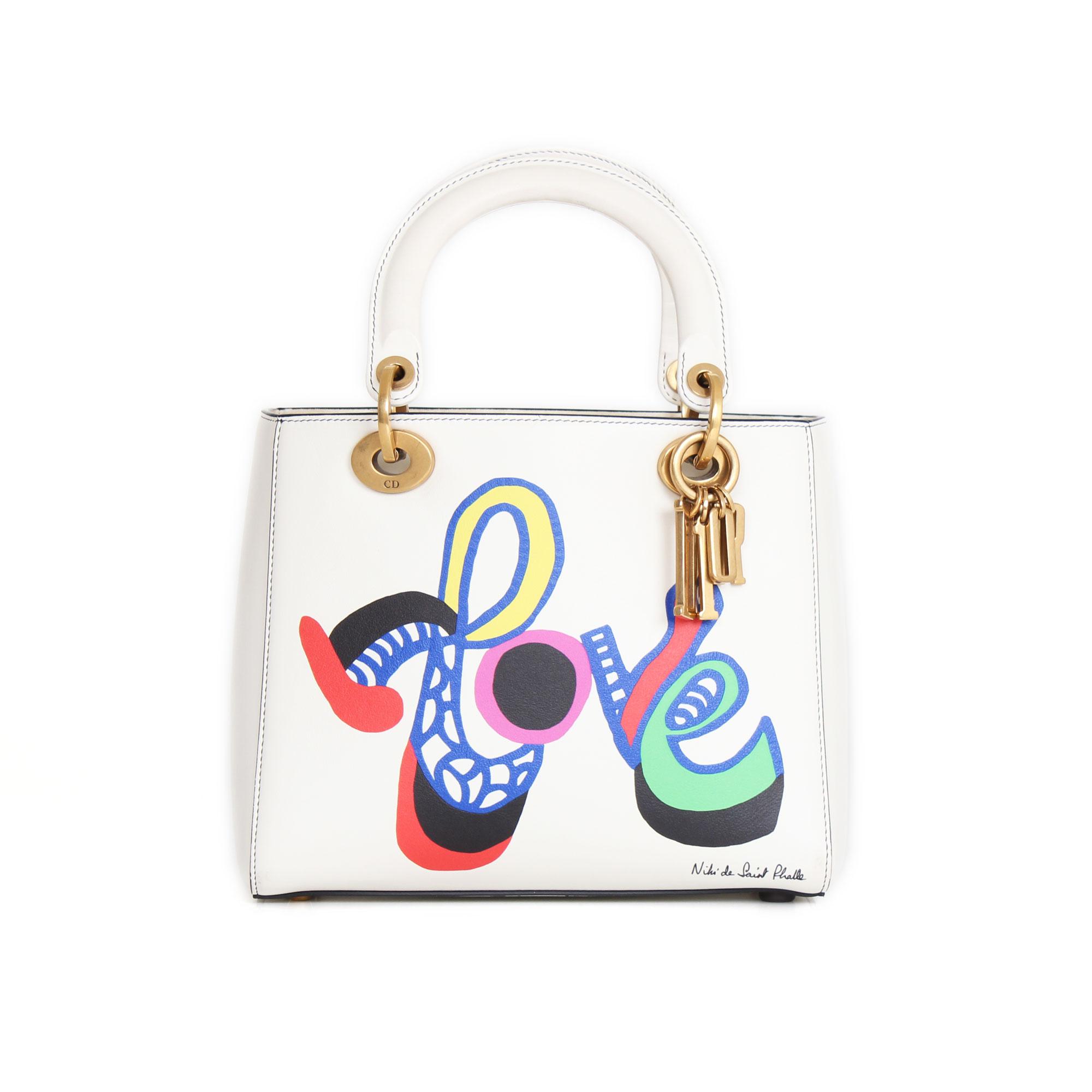 de6015e2fae5 Dior handbag Lady Dior Niki de Saint Phalle