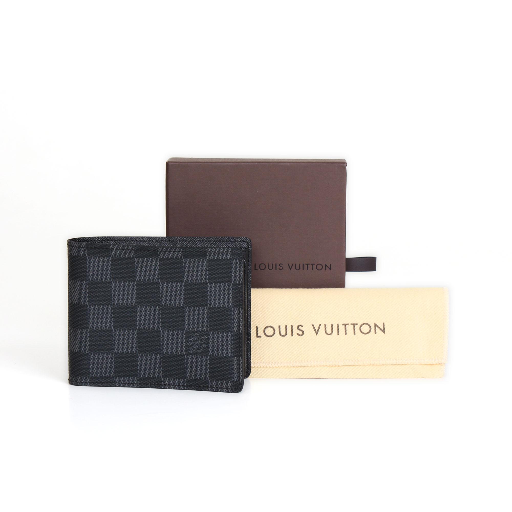 5c1b4257badea Louis Vuitton Florin Damier Graphite Wallet