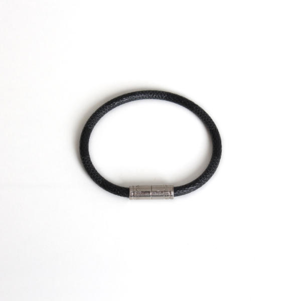 louis vuitton keep it bracelet damier graphite