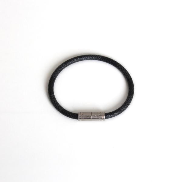 louis vuitton keep it bracelet damier graphite