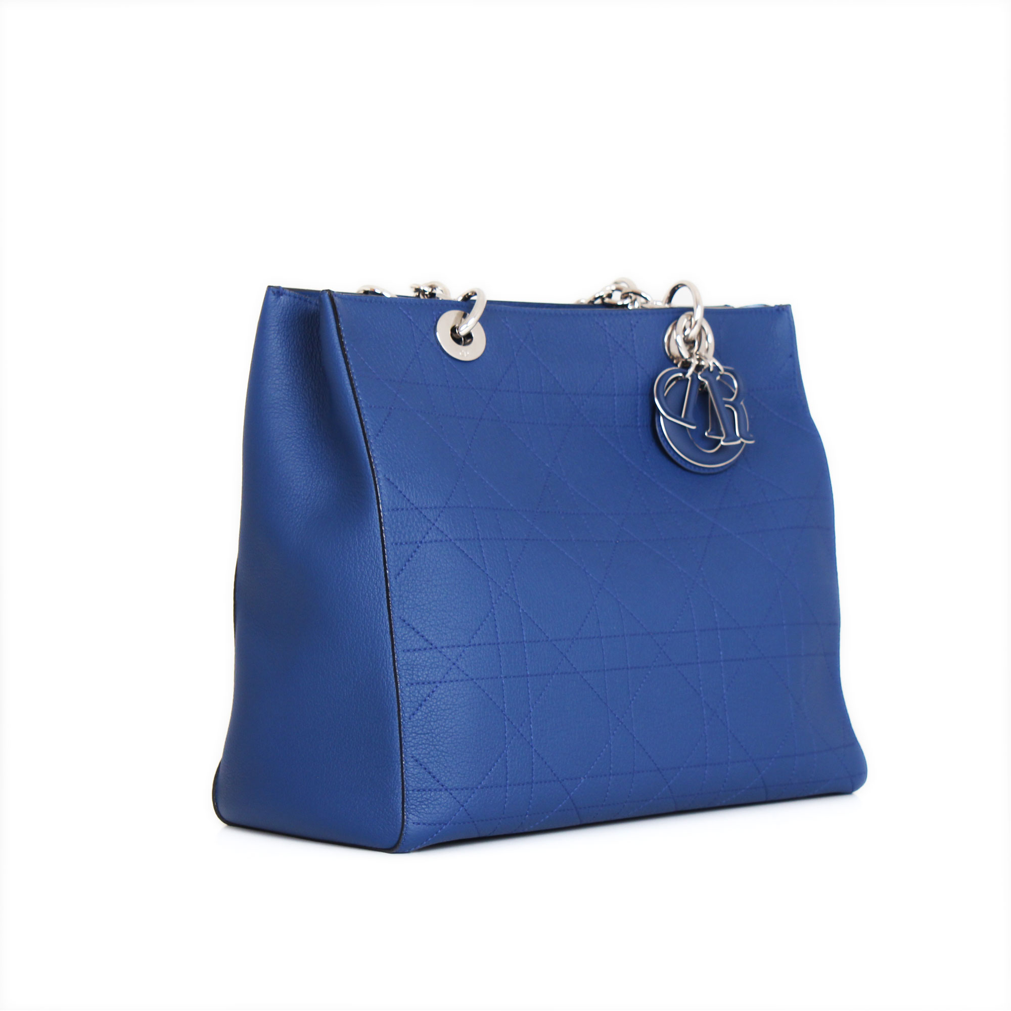 Dior UltraDior Blue Pebbled Leather Bag  cec1c68445acb